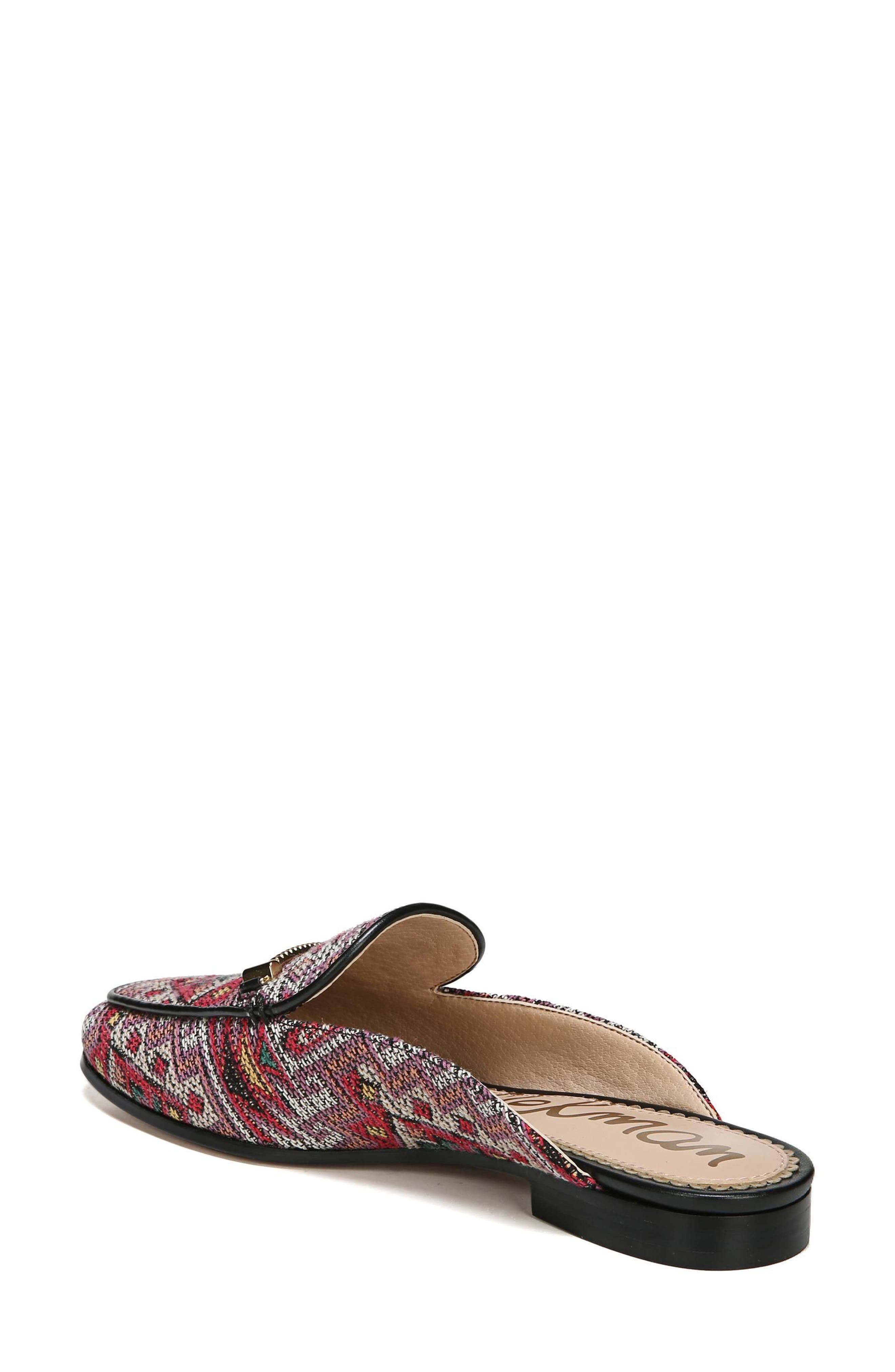 Laurna Mule,                             Alternate thumbnail 2, color,                             Red Multi Fabric