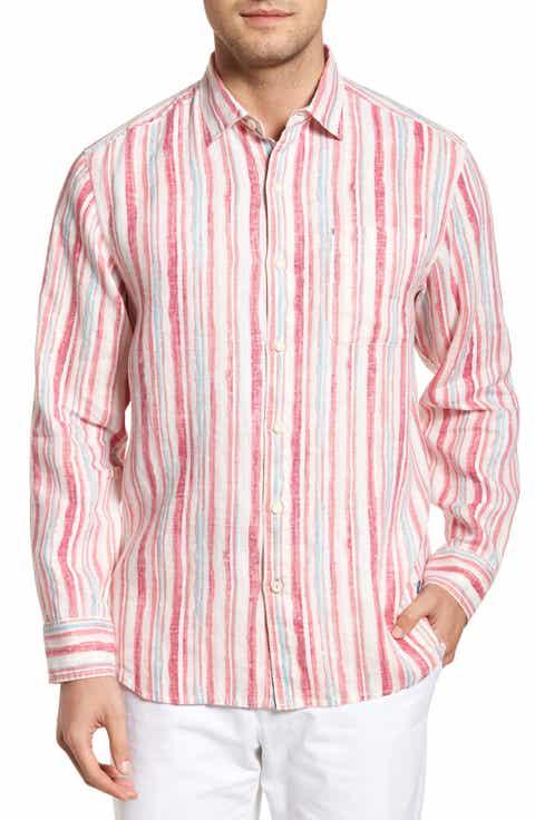 Shirts for Men, Men's Pink Linen Shirts | Nordstrom