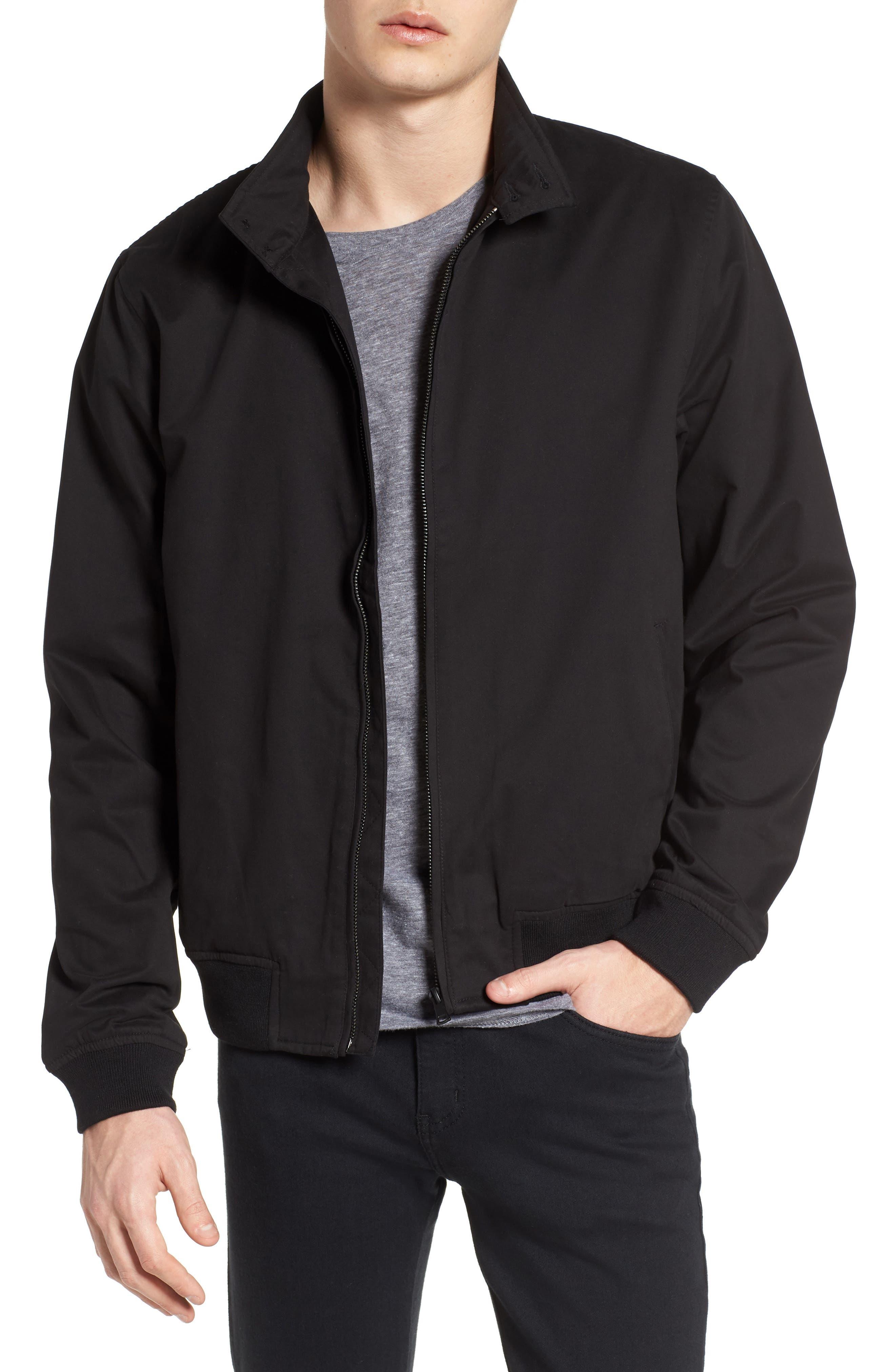 Harrington Jacket,                         Main,                         color, Black