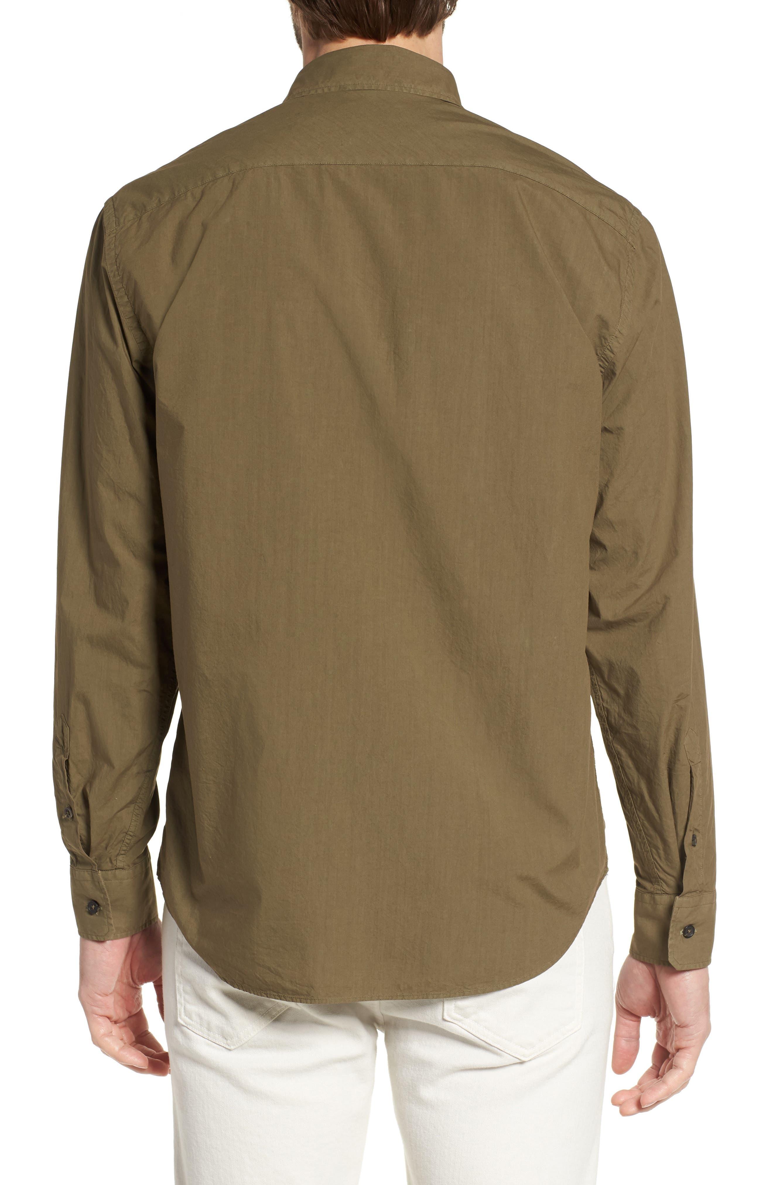 Alternate Image 3  - Billy Reid Brantley Slim Fit Sport Shirt