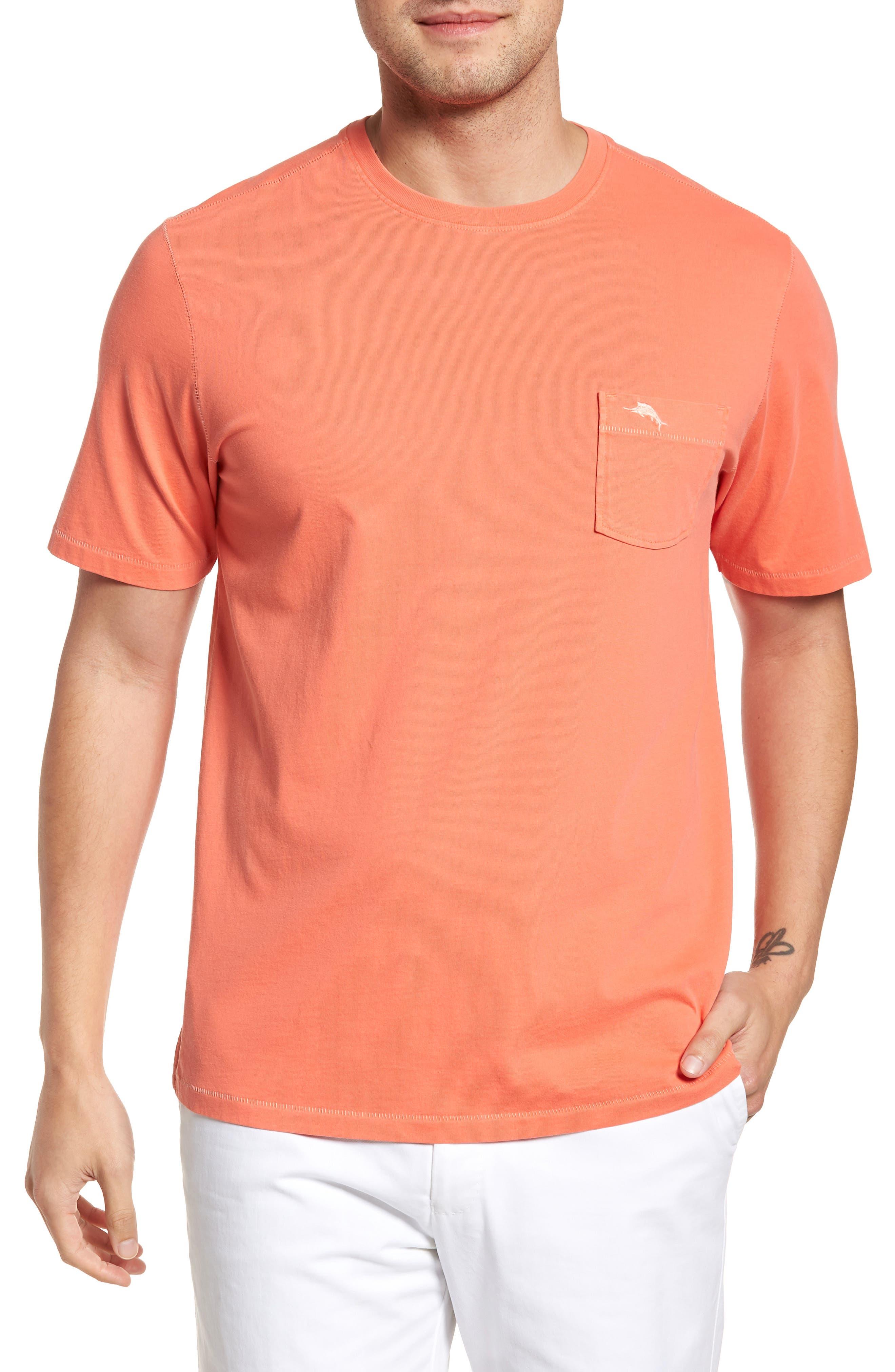 Main Image - Tommy Bahama 'New Bahama Reef' Island Modern Fit Pima Cotton Pocket T-Shirt