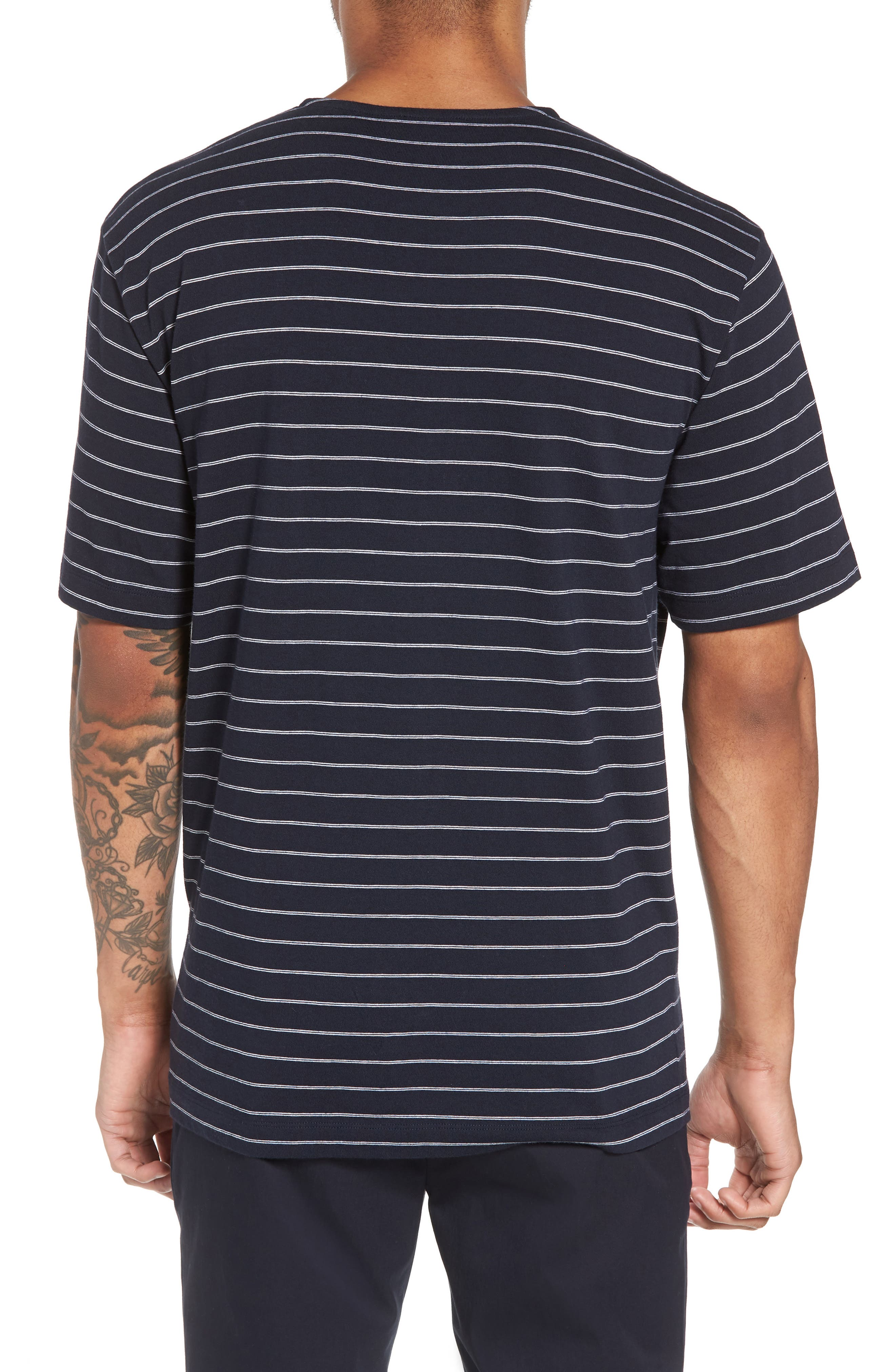 Alternate Image 2  - Theory Relaxed Stripe Henley