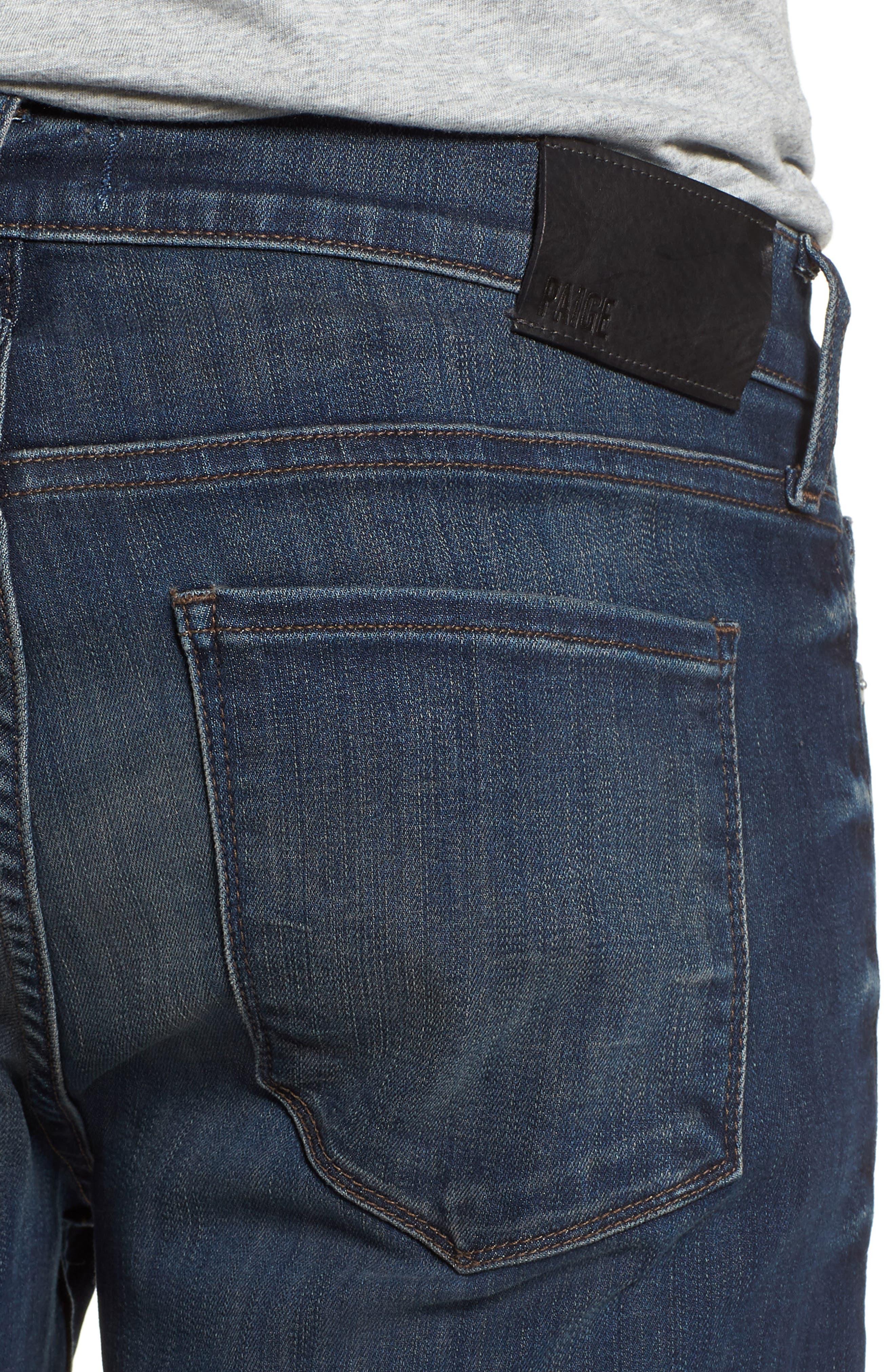Transcend - Lennox Slim Fit Jeans,                             Alternate thumbnail 4, color,                             Freeman