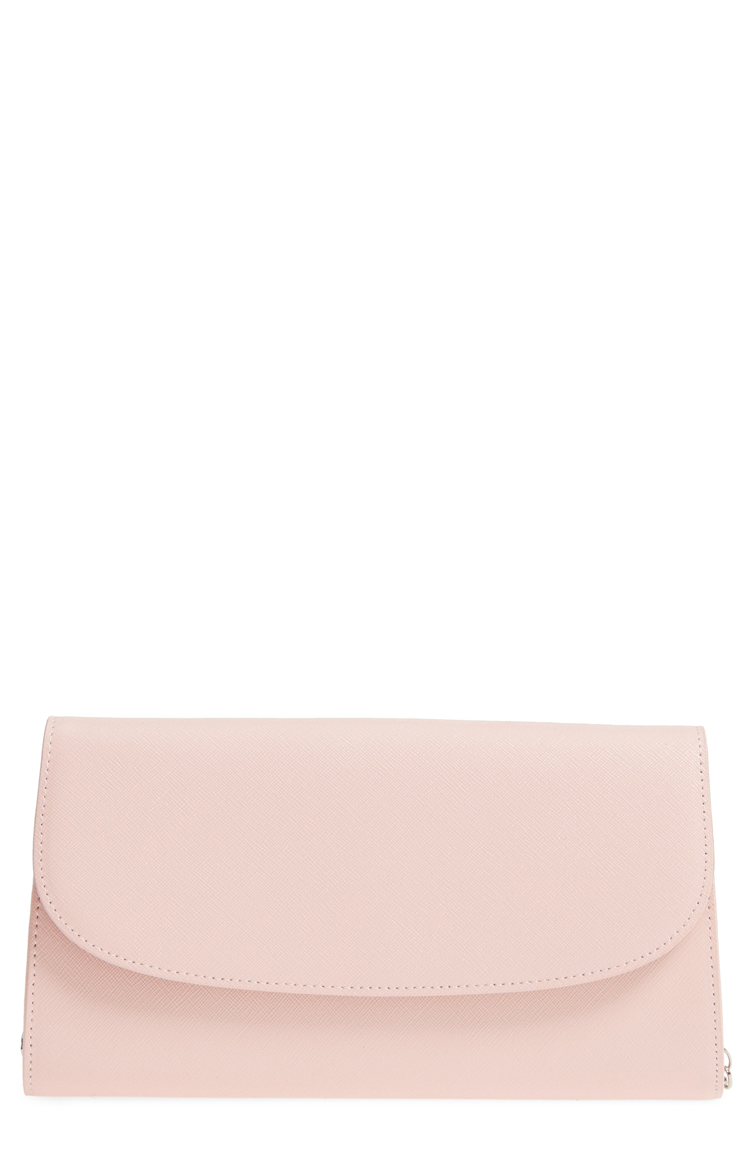 Main Image - Nordstrom Leather Clutch
