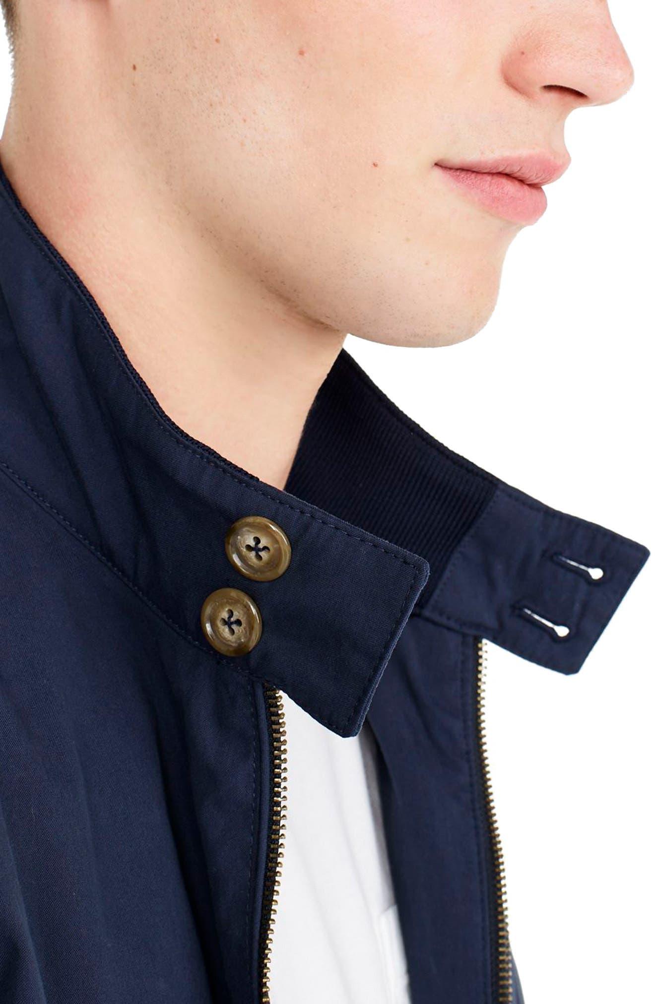 Alternate Image 3  - J.Crew Slim Fit Harrington Jacket