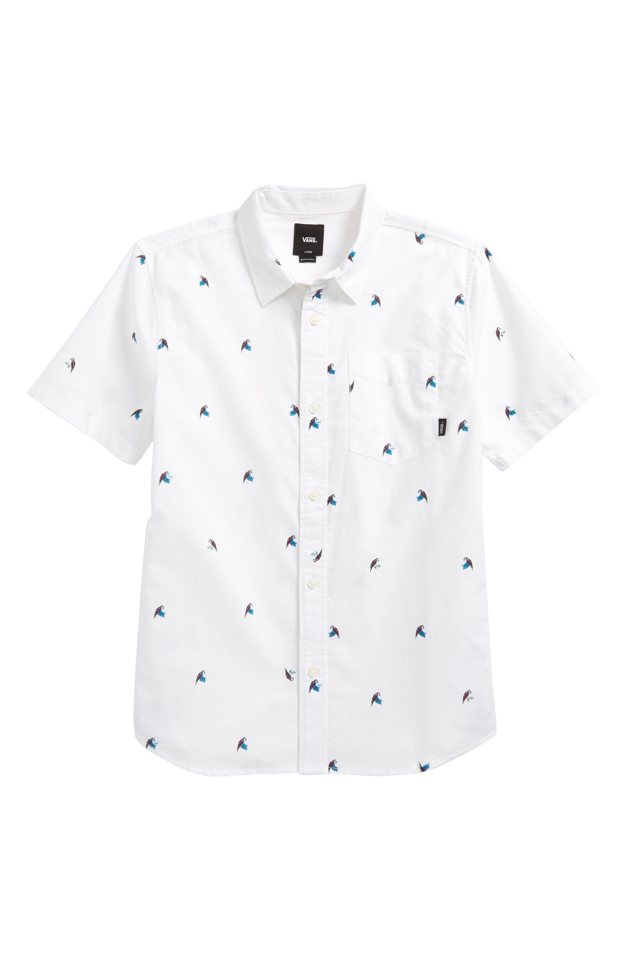 Alternate Image 1 Selected - Vans Houser Woven Shirt (Big Boys)