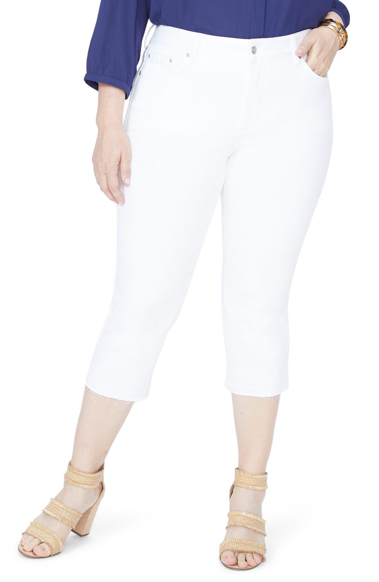 NYDJ Release Hem Skinny Jeans (Plus Size)