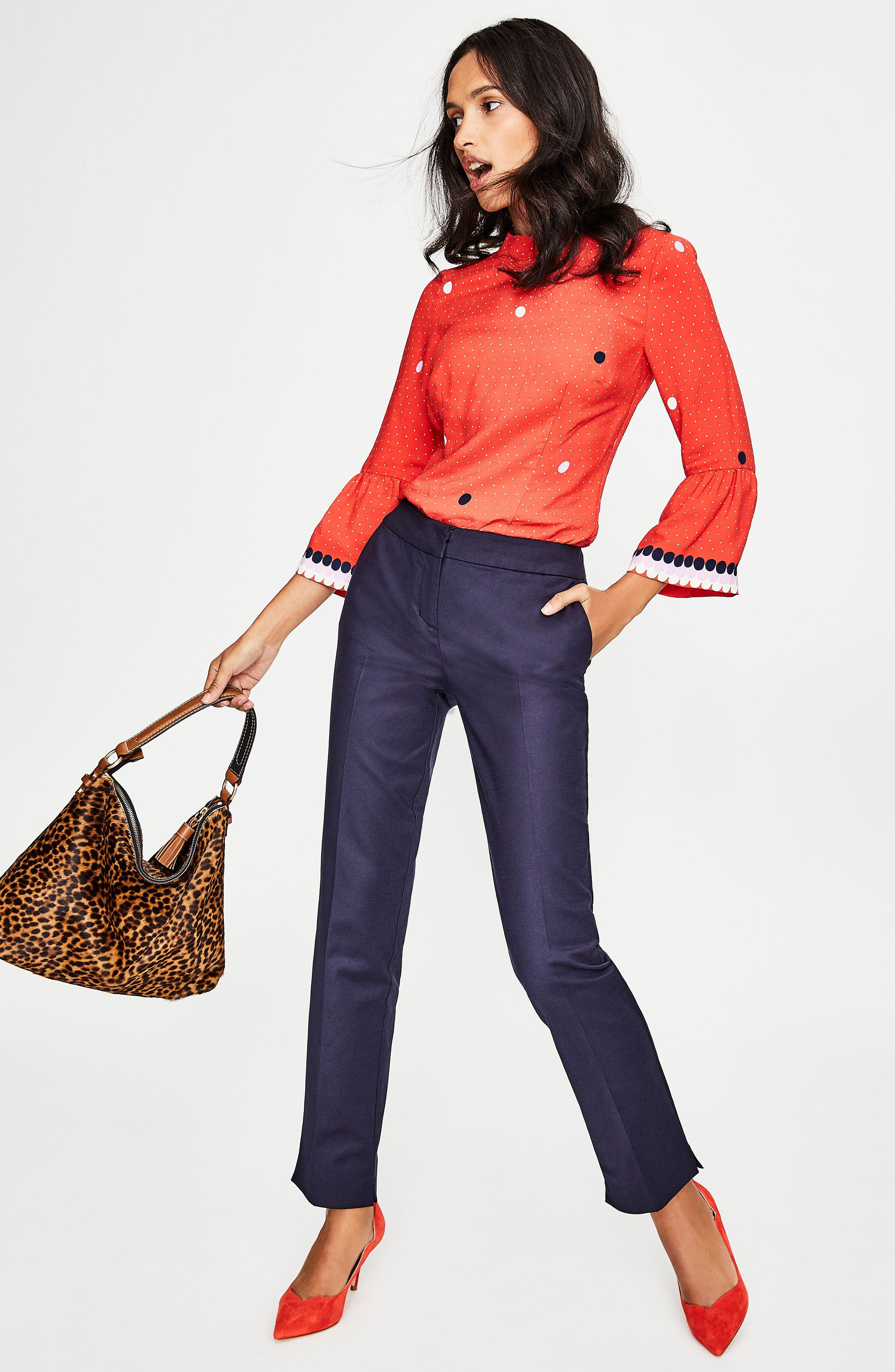 Alternate Image 2  - Boden Richmond Stretch Cotton Trousers