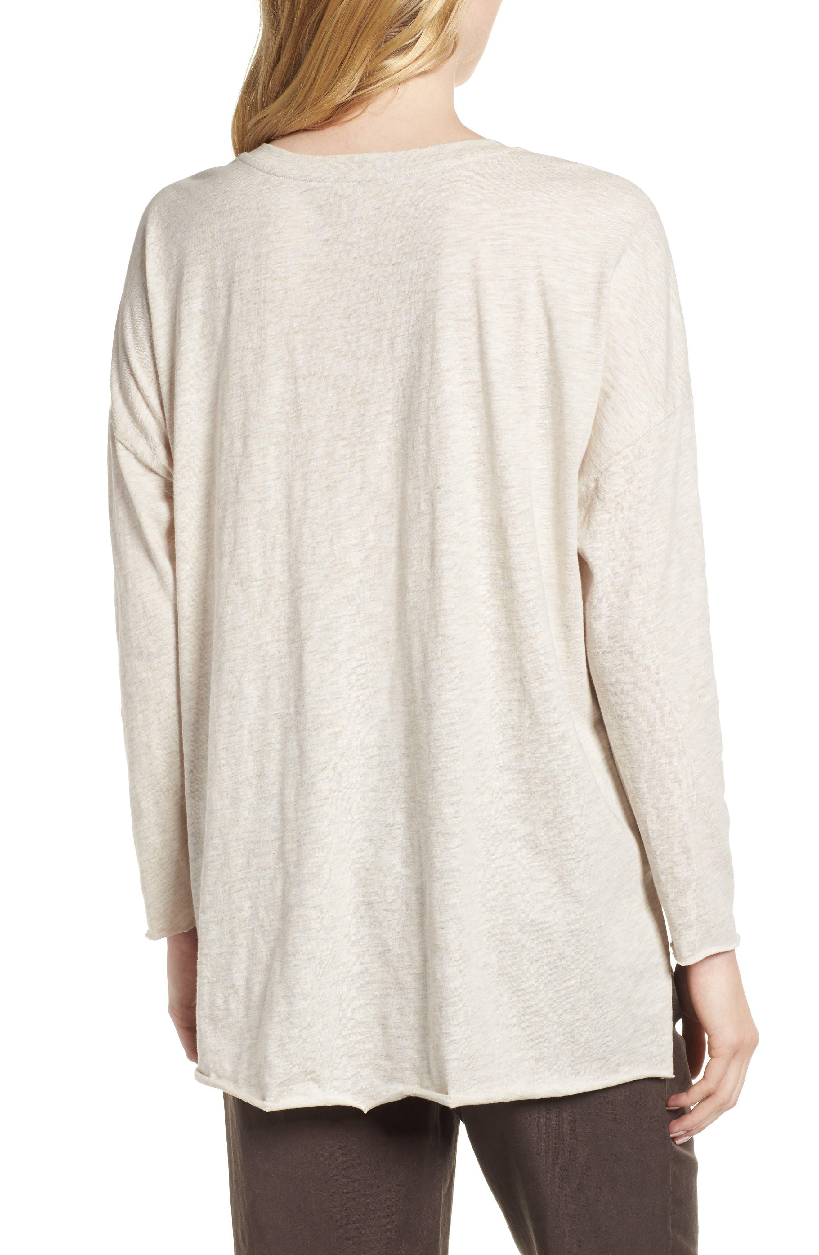 Organic Cotton Tunic,                             Alternate thumbnail 2, color,                             Natural