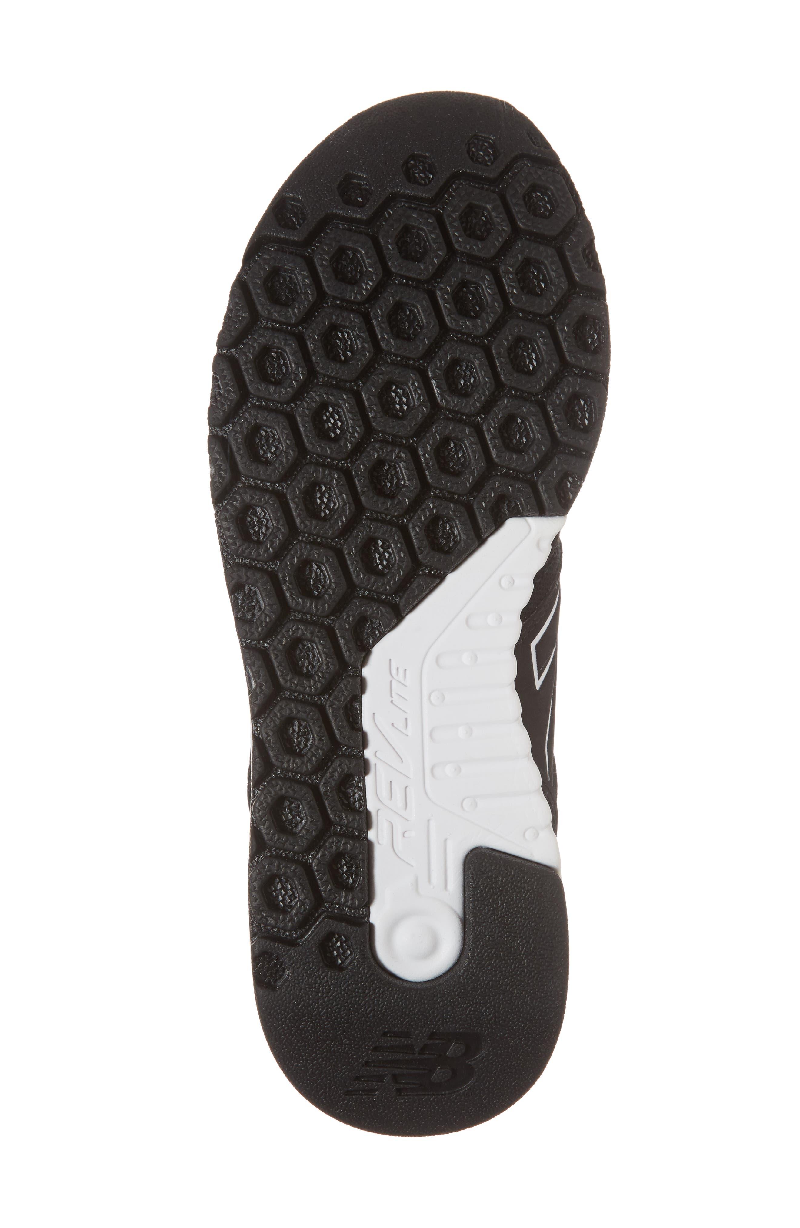 247 Mid Sneaker,                             Alternate thumbnail 6, color,                             Black