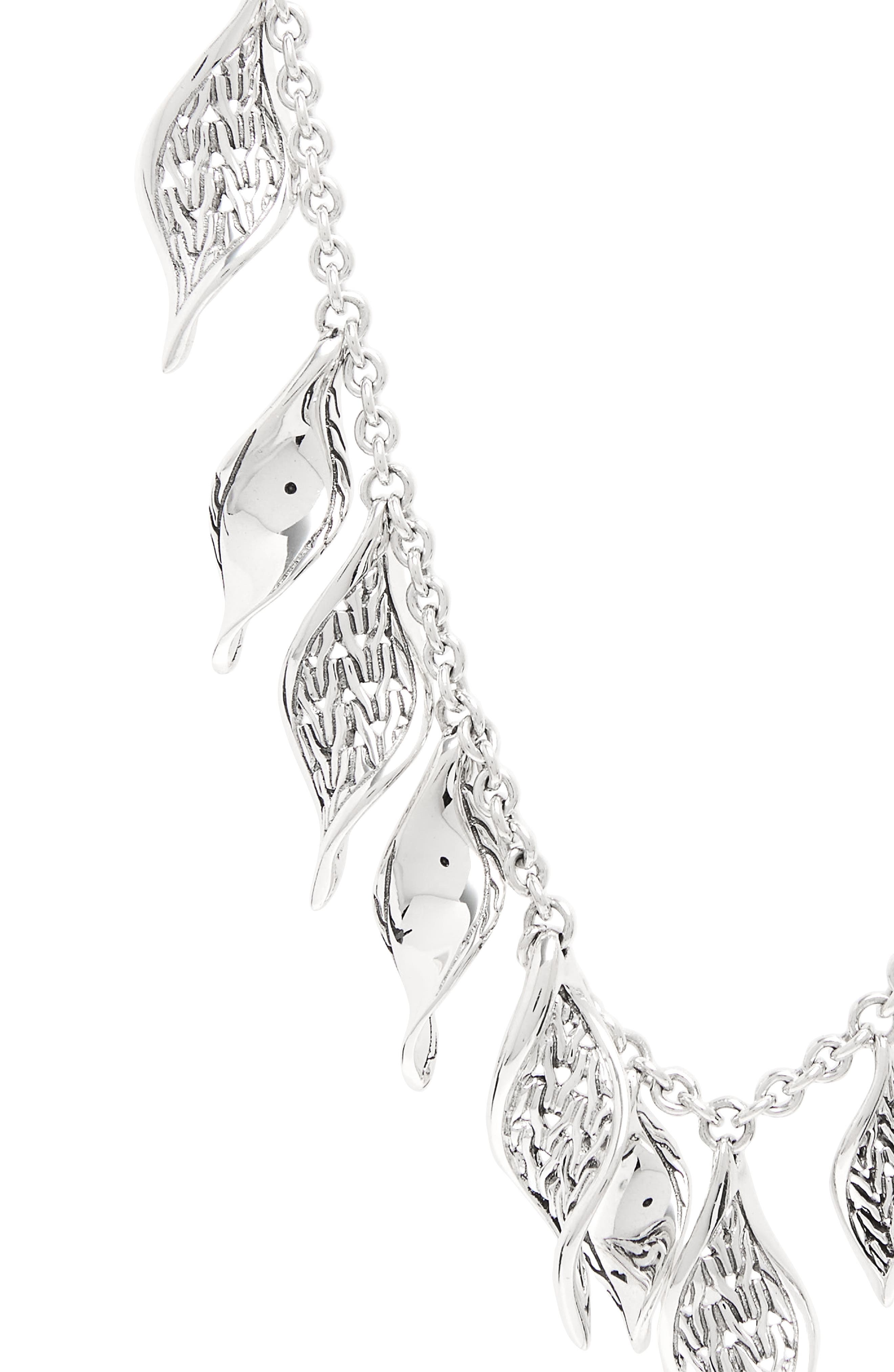 Classic Chain Silver Necklace,                             Alternate thumbnail 2, color,                             Silver