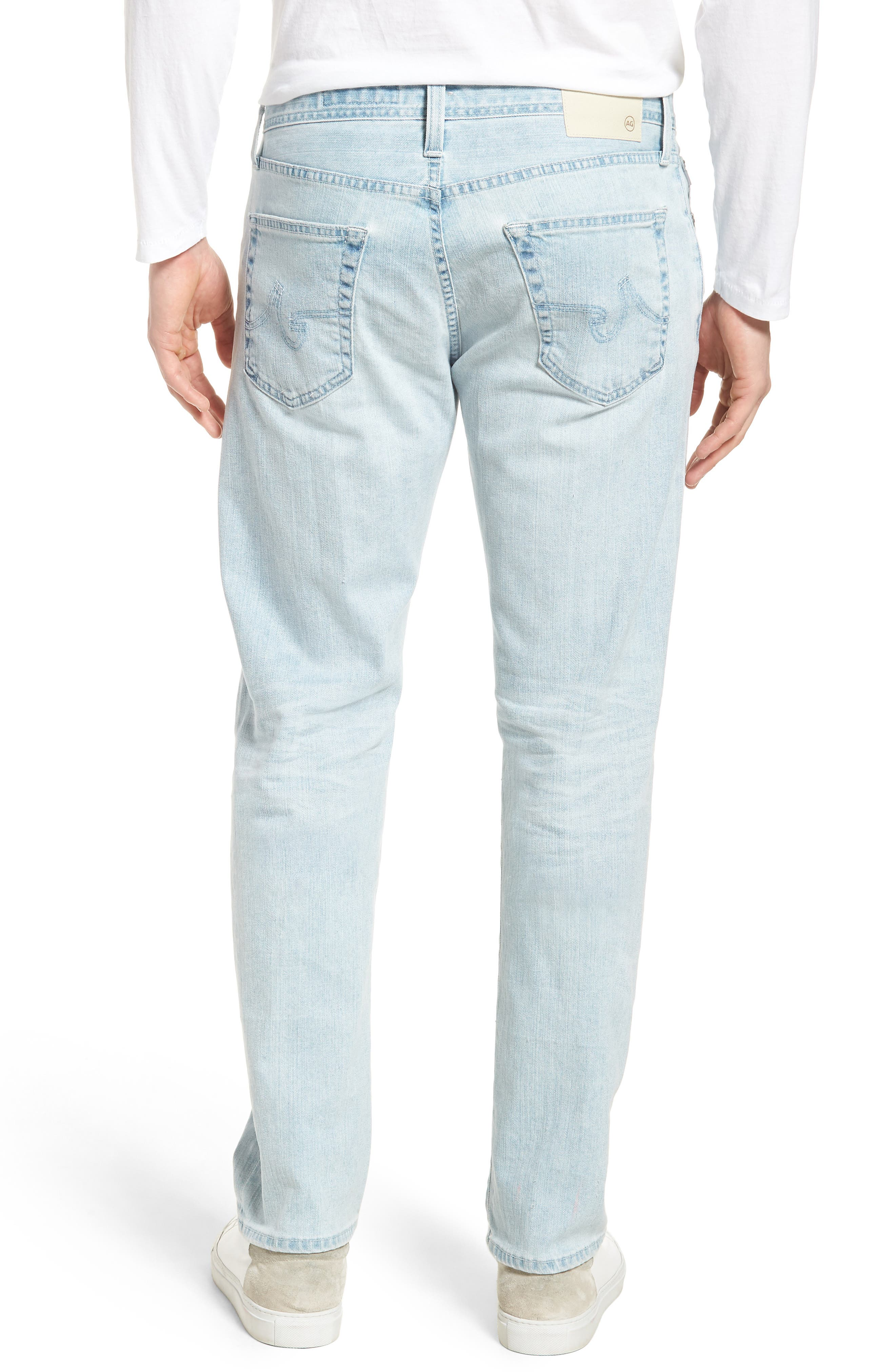 Alternate Image 2  - AG Graduate Slim Straight Leg Jeans (27 Years Bayside)