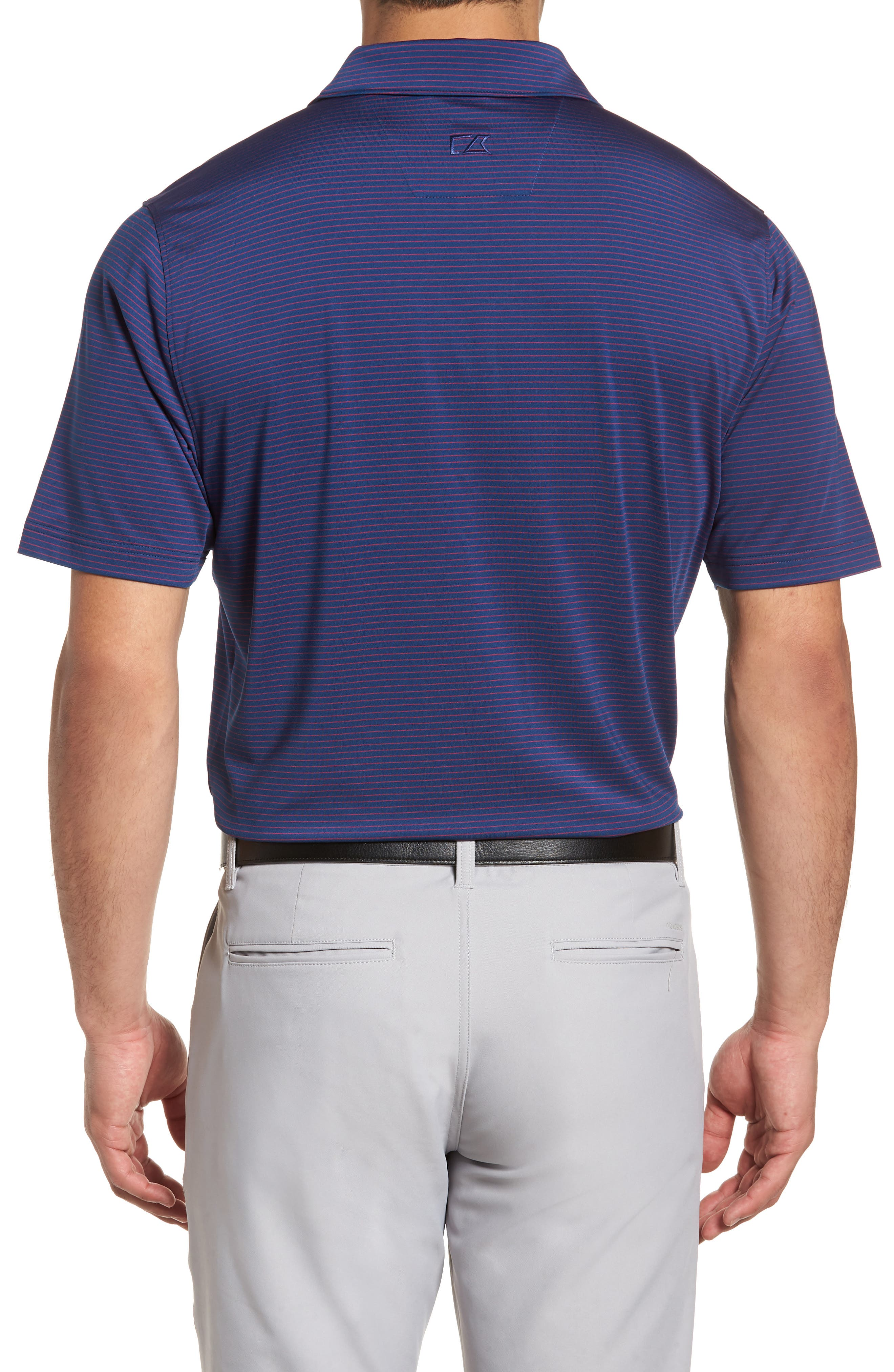 Heather DryTec Moisture Wicking Polo,                             Alternate thumbnail 2, color,                             Clarity