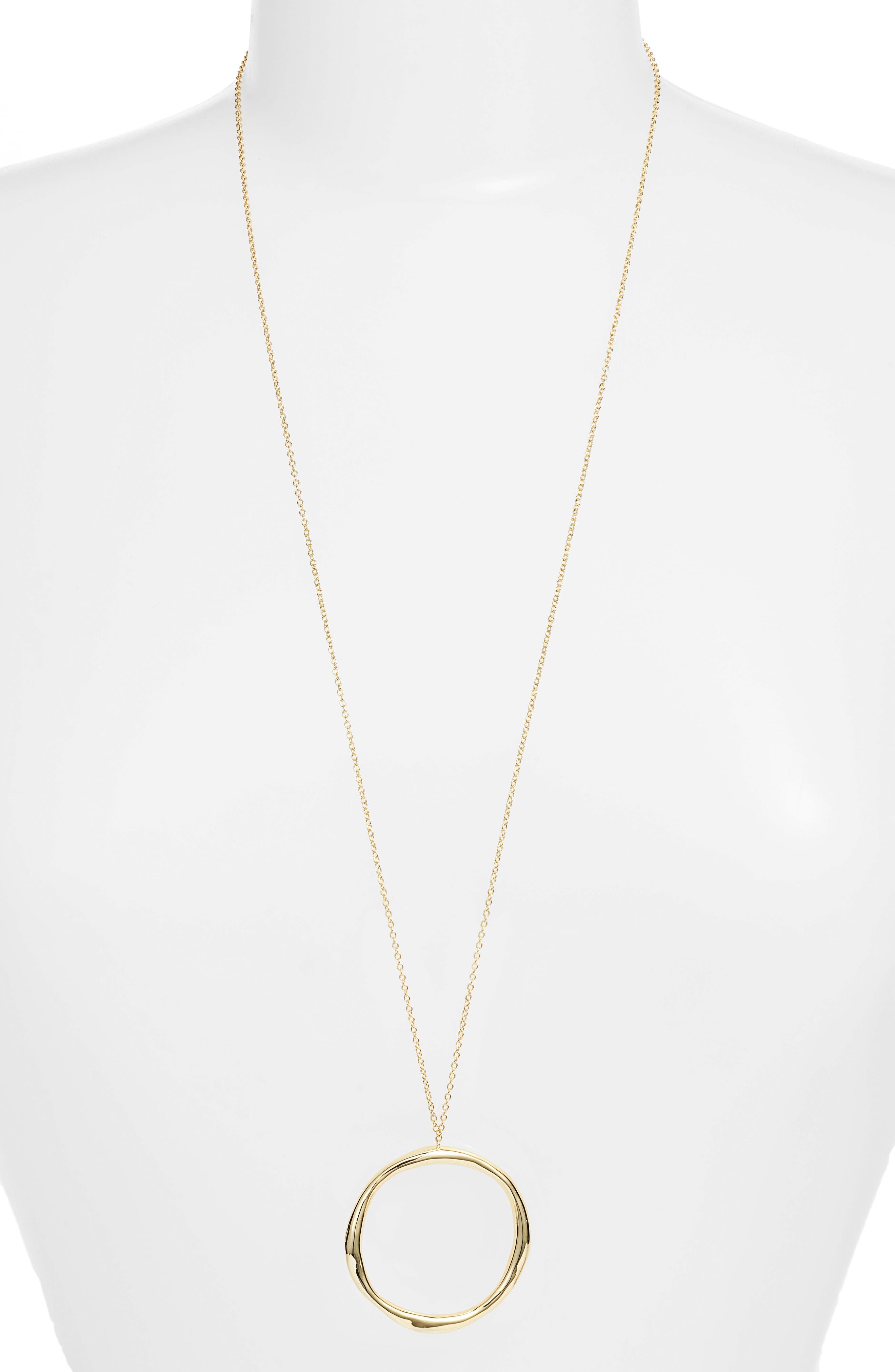 Alternate Image 2  - gorjana Quinn Long Pendant Necklace