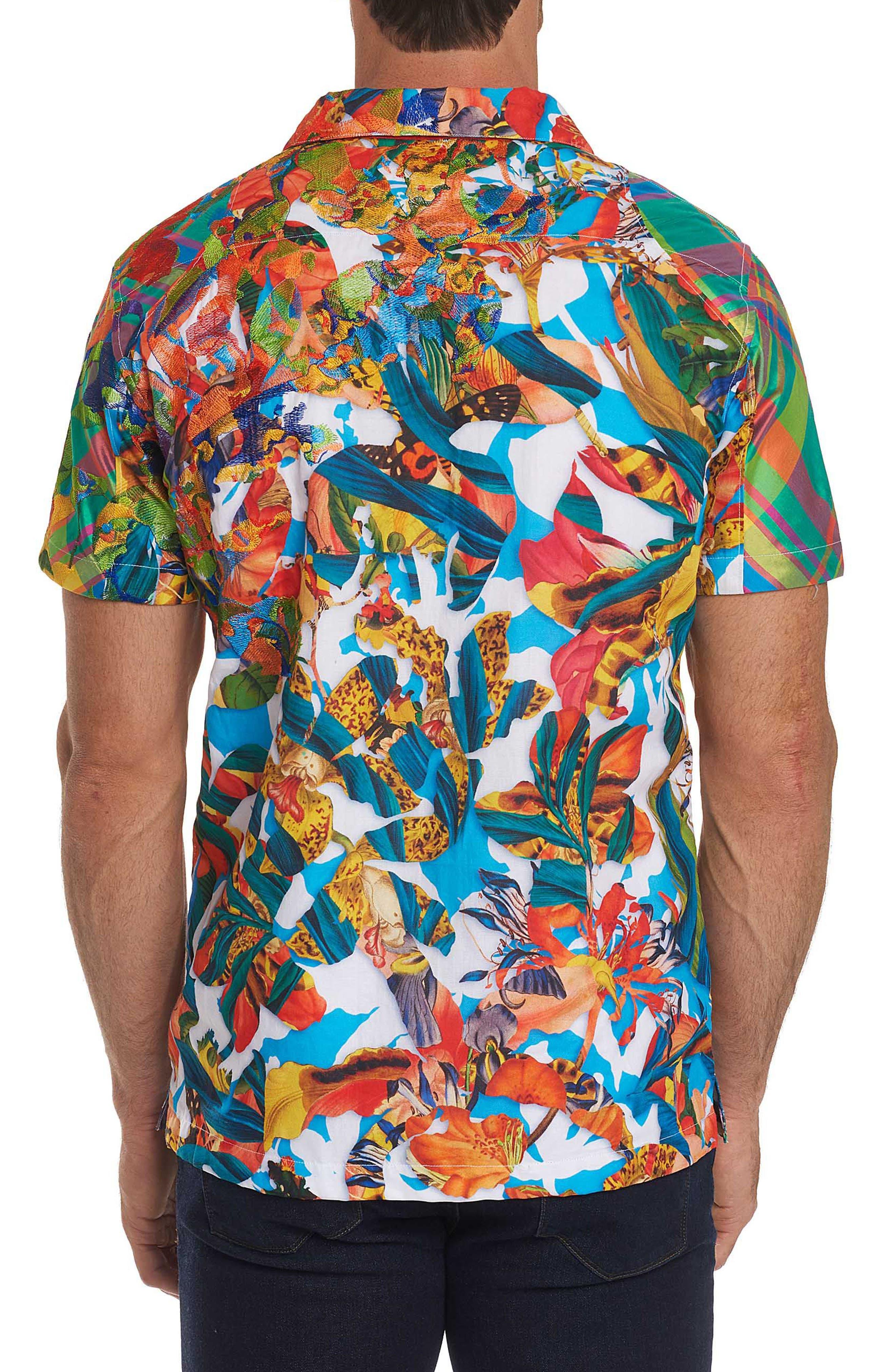 Think Vivid Limited Edition Classic Fit Sport Shirt,                             Alternate thumbnail 2, color,                             Multi