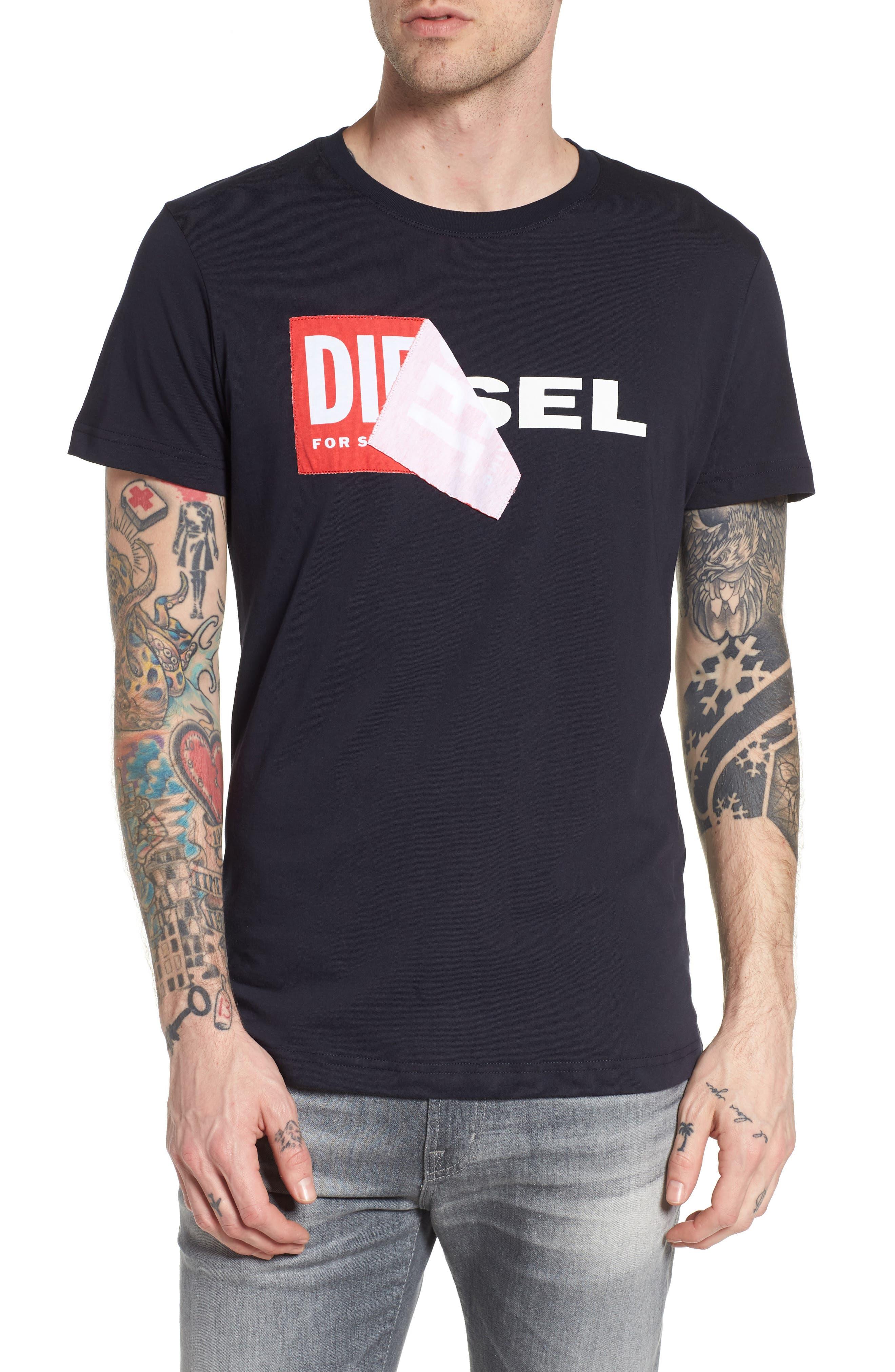 Alternate Image 1 Selected - DIESEL® T-Diego-QA T-Shirt