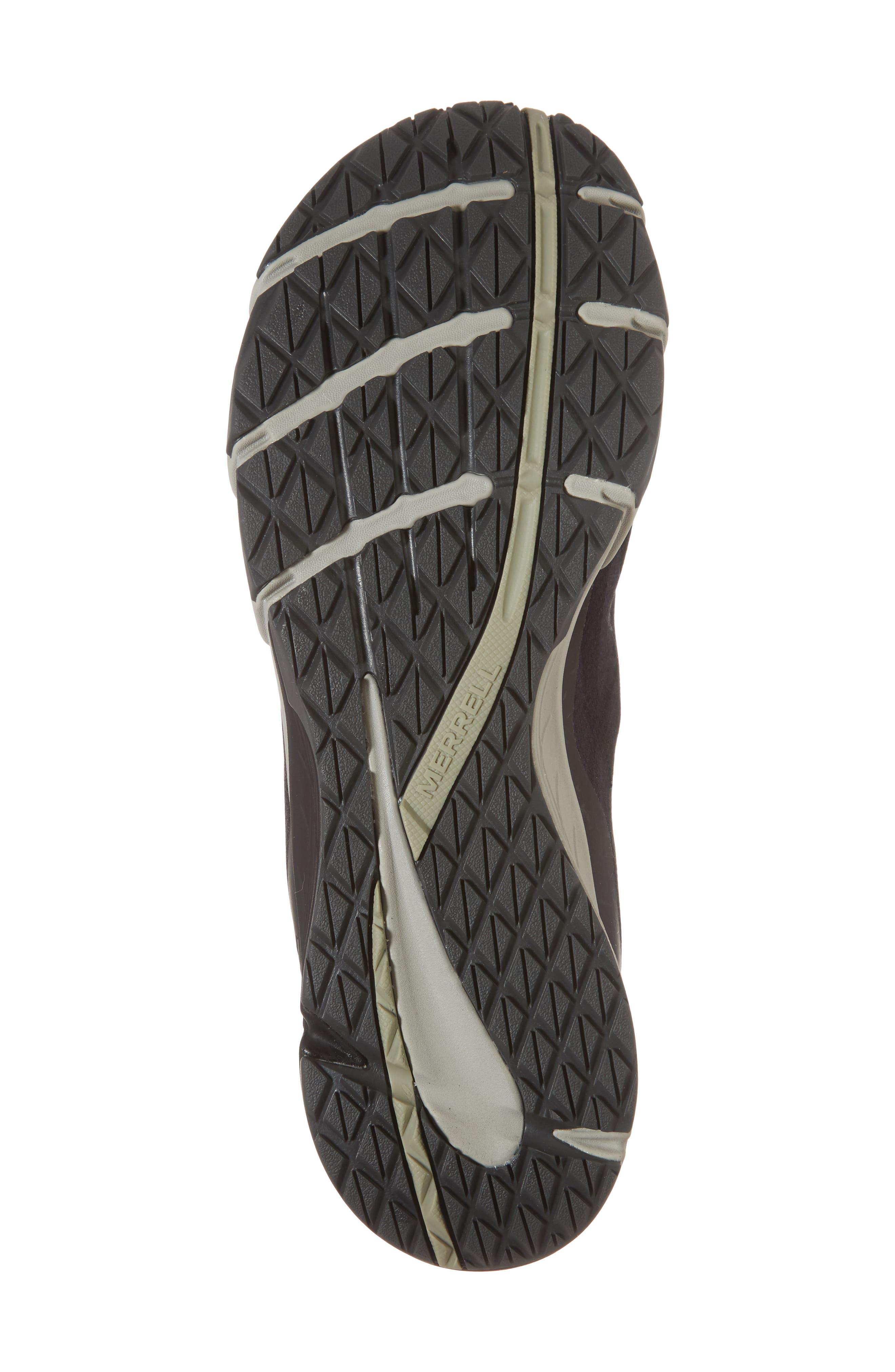 Bare Access Flex Running Shoe,                             Alternate thumbnail 6, color,                             Black/ Silver