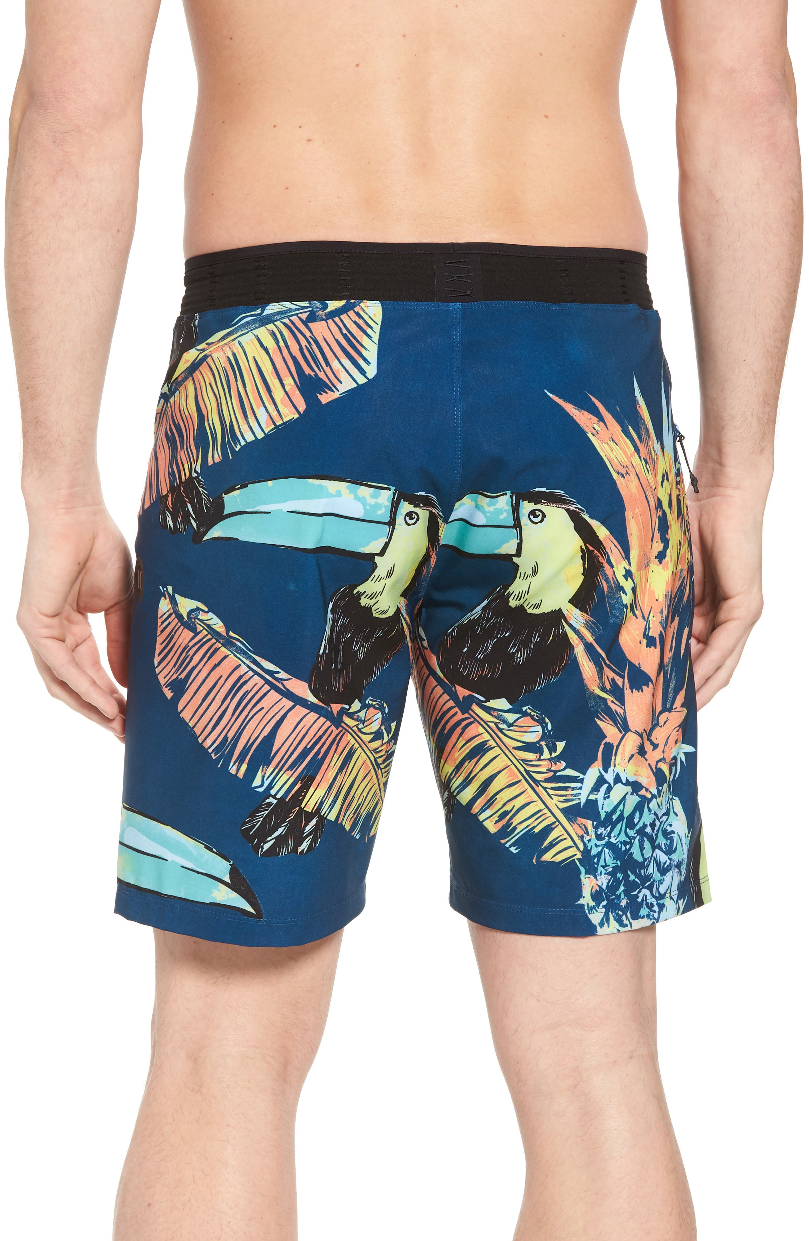 Alternate Image 2  - Hurley Phantom Hyperweave 3.0 Board Shorts