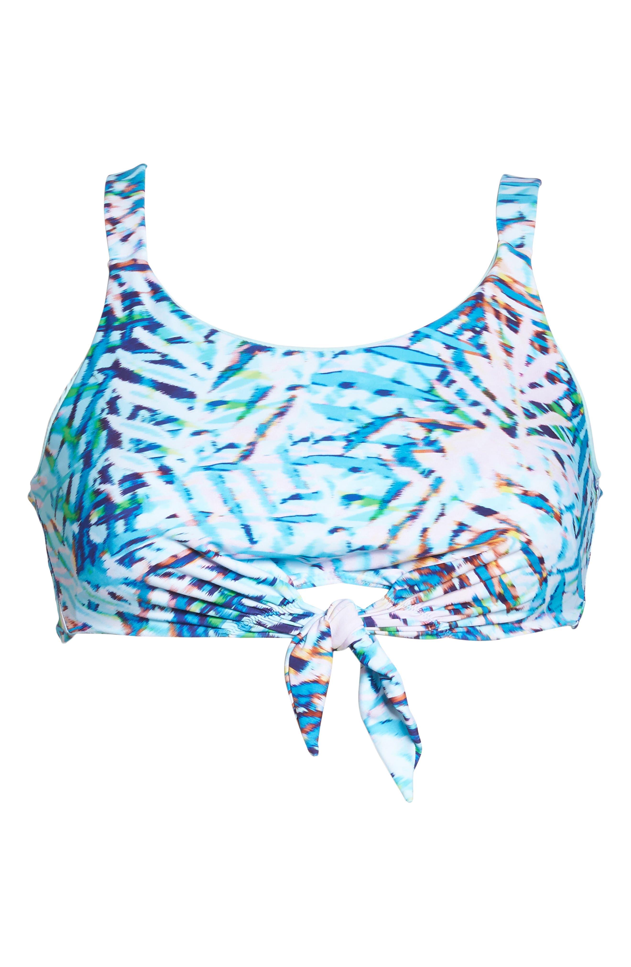 Knot Bikini Top,                             Alternate thumbnail 10, color,                             Palma