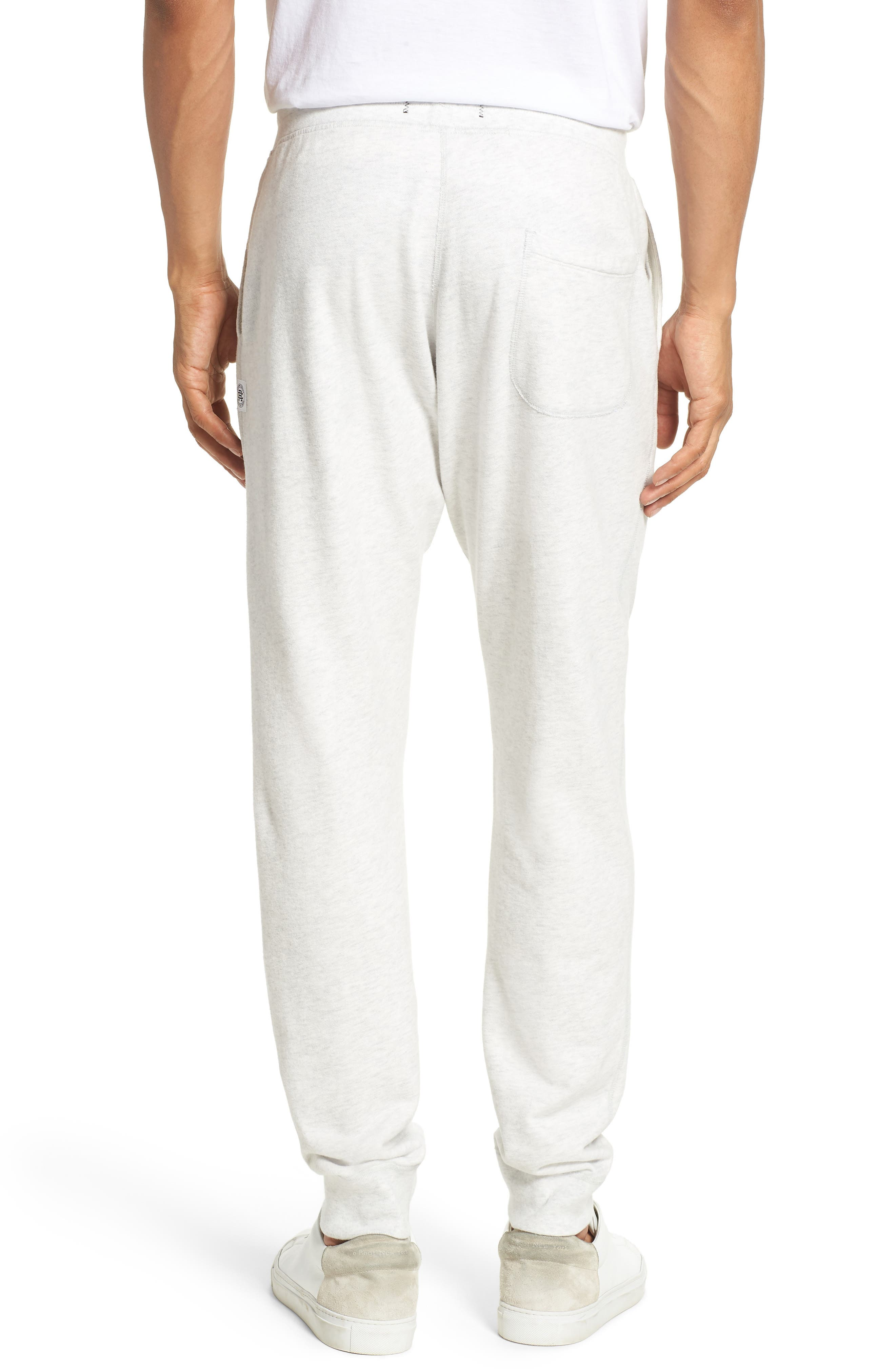Slim Fit Sweatpants,                             Alternate thumbnail 2, color,                             Heather Ash