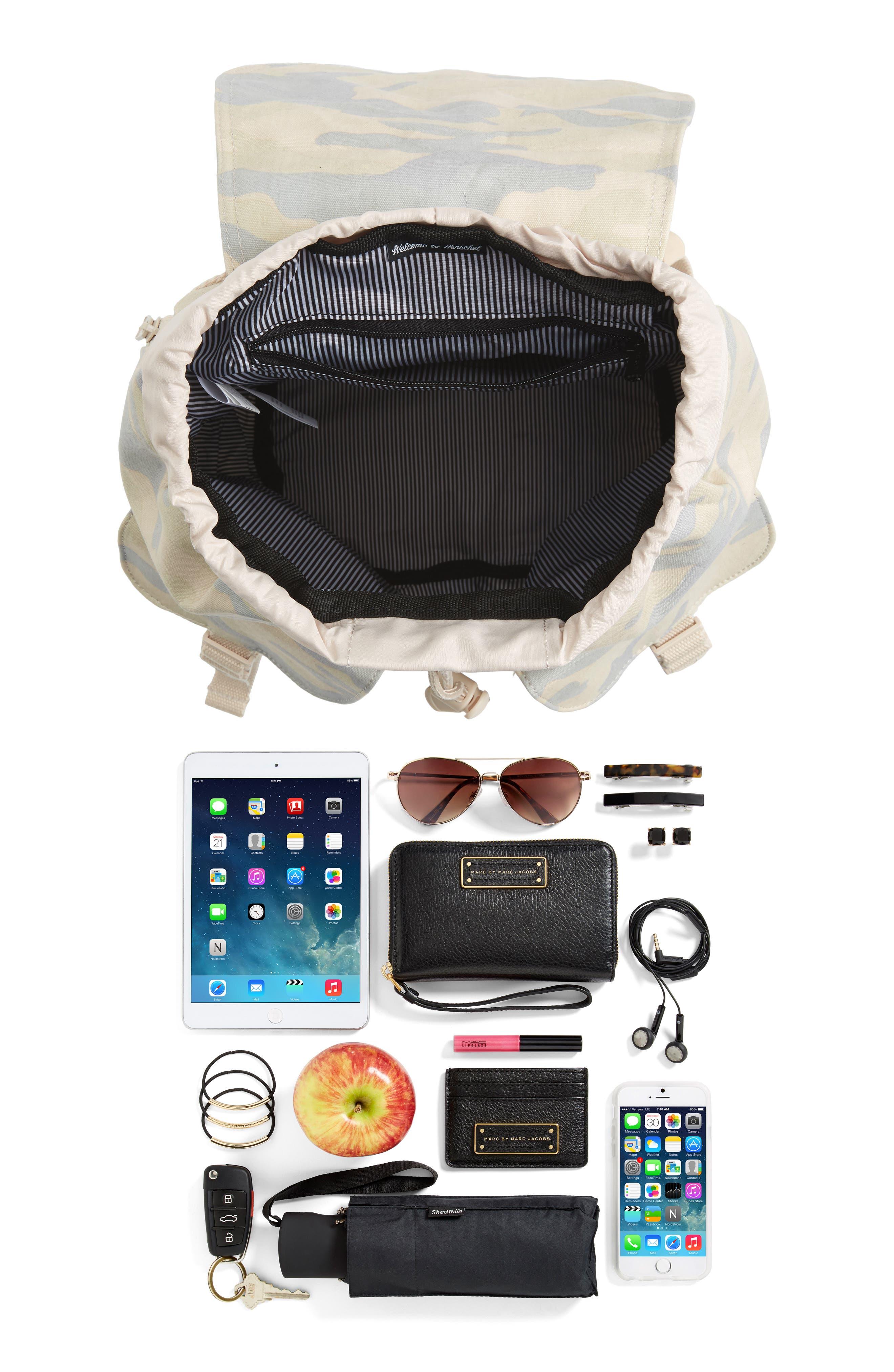 Alternate Image 7  - Herschel Supply Co. X-Small Dawson Camo Canvas Backpack