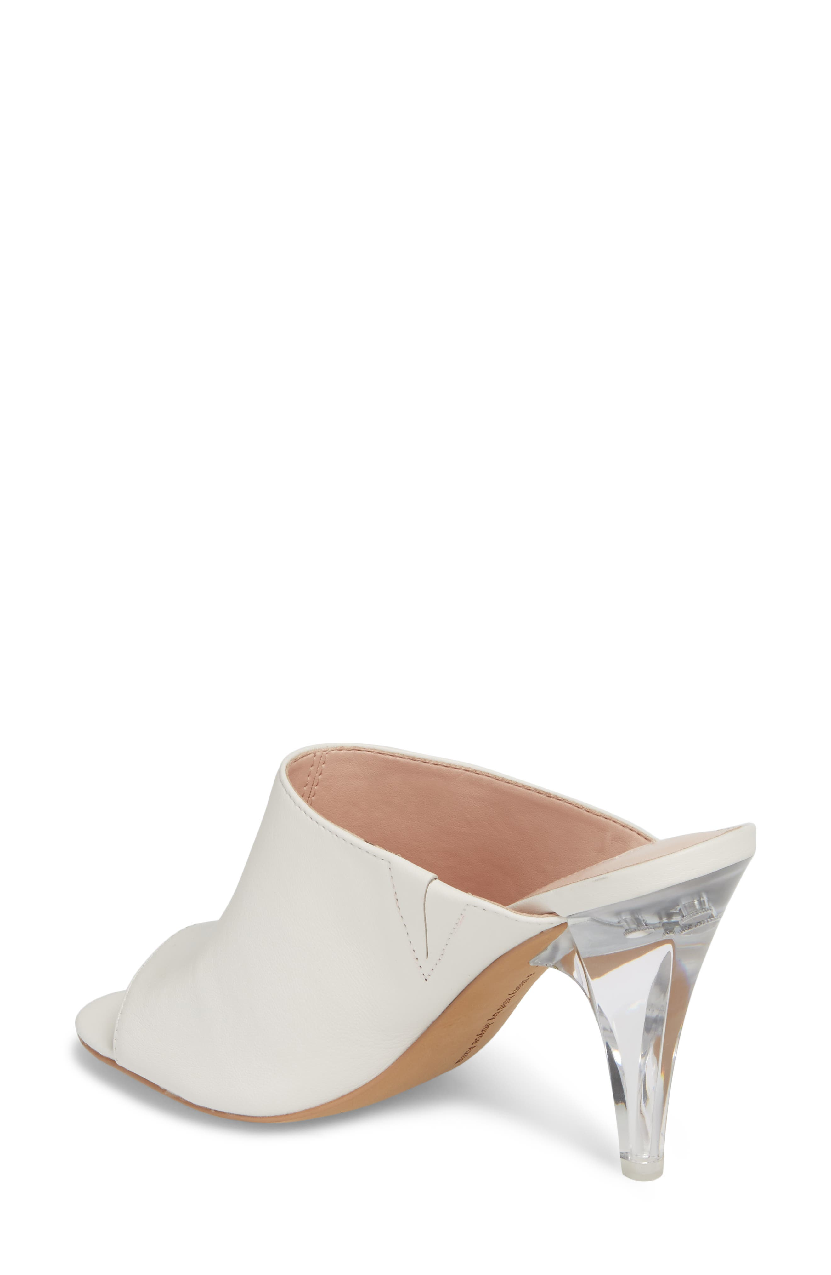 Jazz Off Sandal,                             Alternate thumbnail 2, color,                             Off White Leather