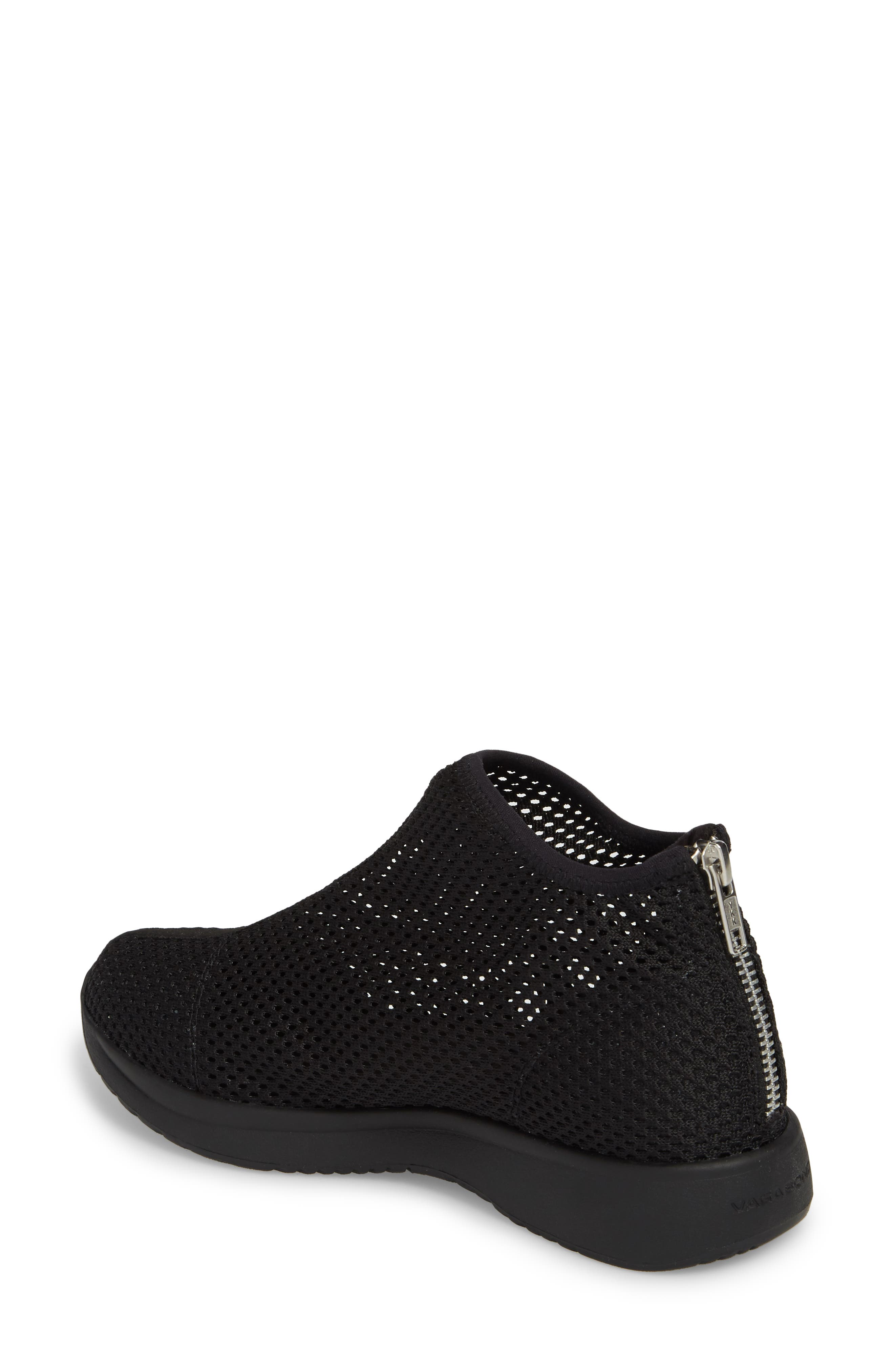 Cintia Sneaker,                             Alternate thumbnail 2, color,                             Black Fabric