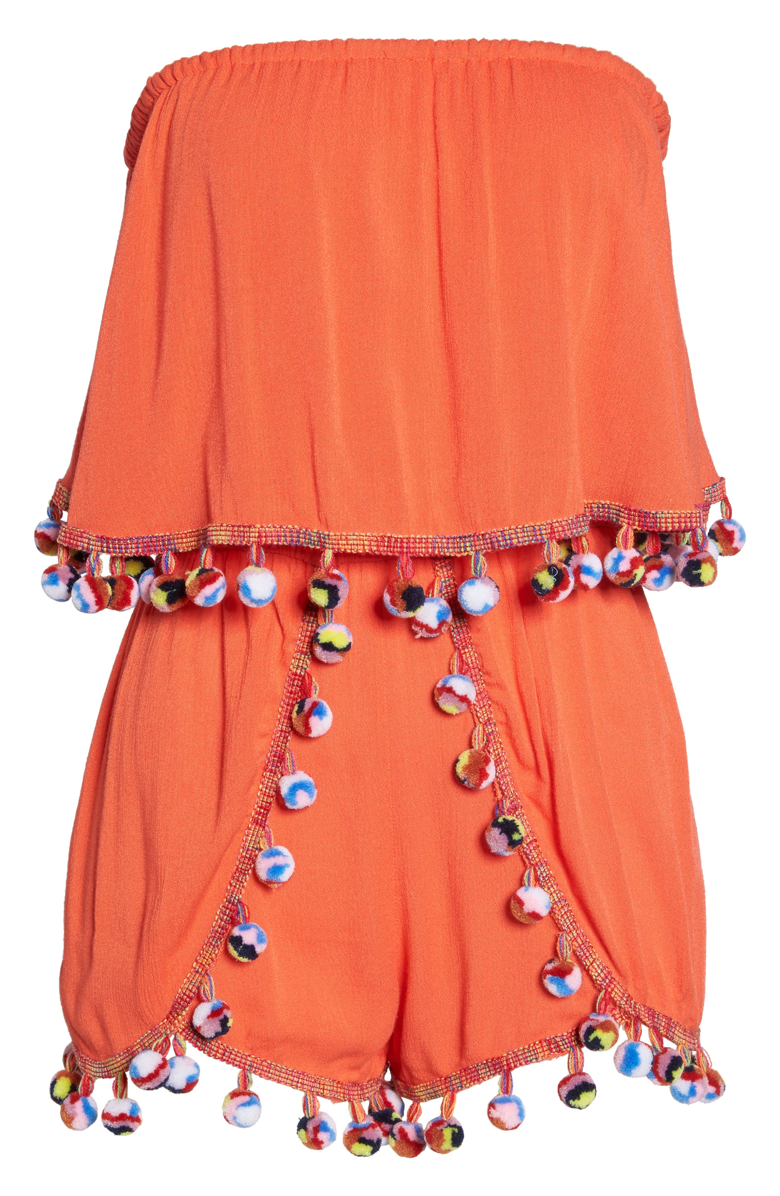 Alternate Image 5  - Surf Gypsy Red Fruit Punch Cover-Up Romper