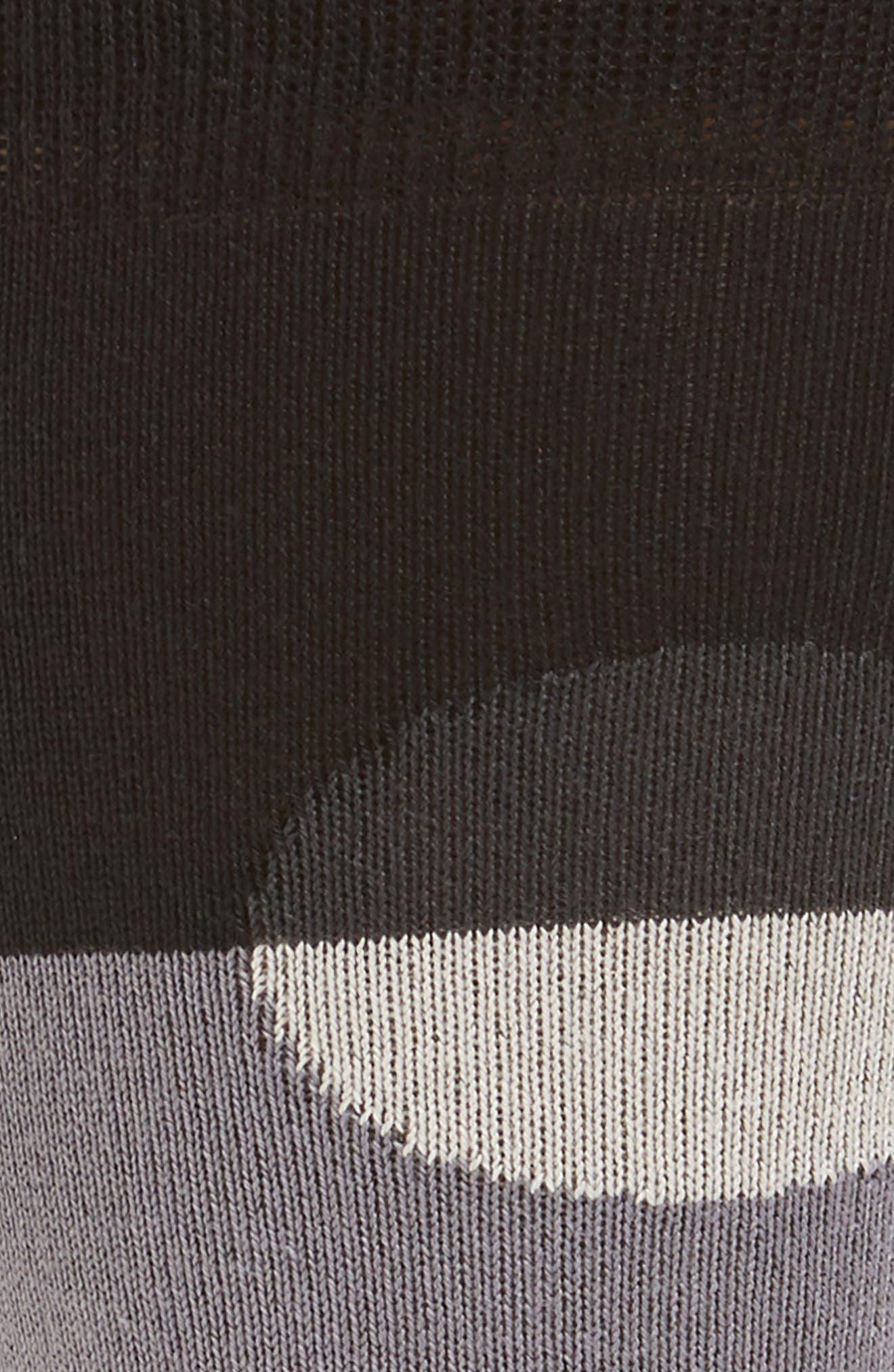 Crescent Dot Socks,                             Alternate thumbnail 2, color,                             Black
