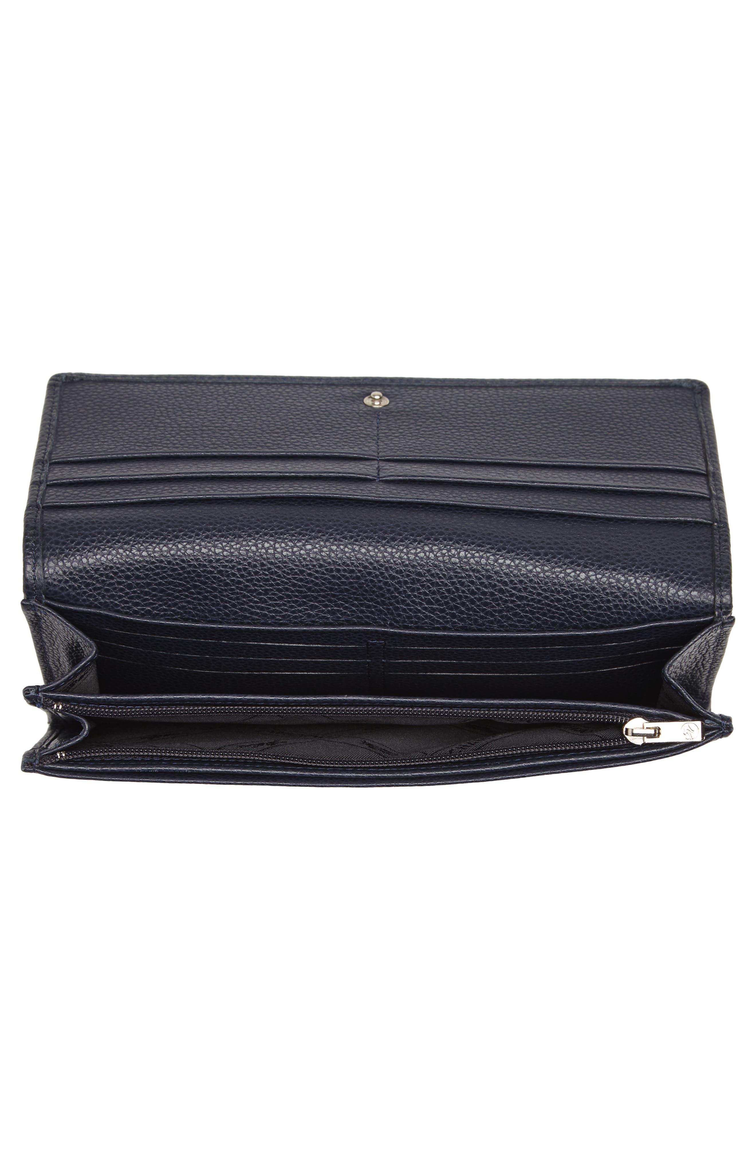 Alternate Image 2  - Longchamp 'Veau Foulonne' Continental Wallet