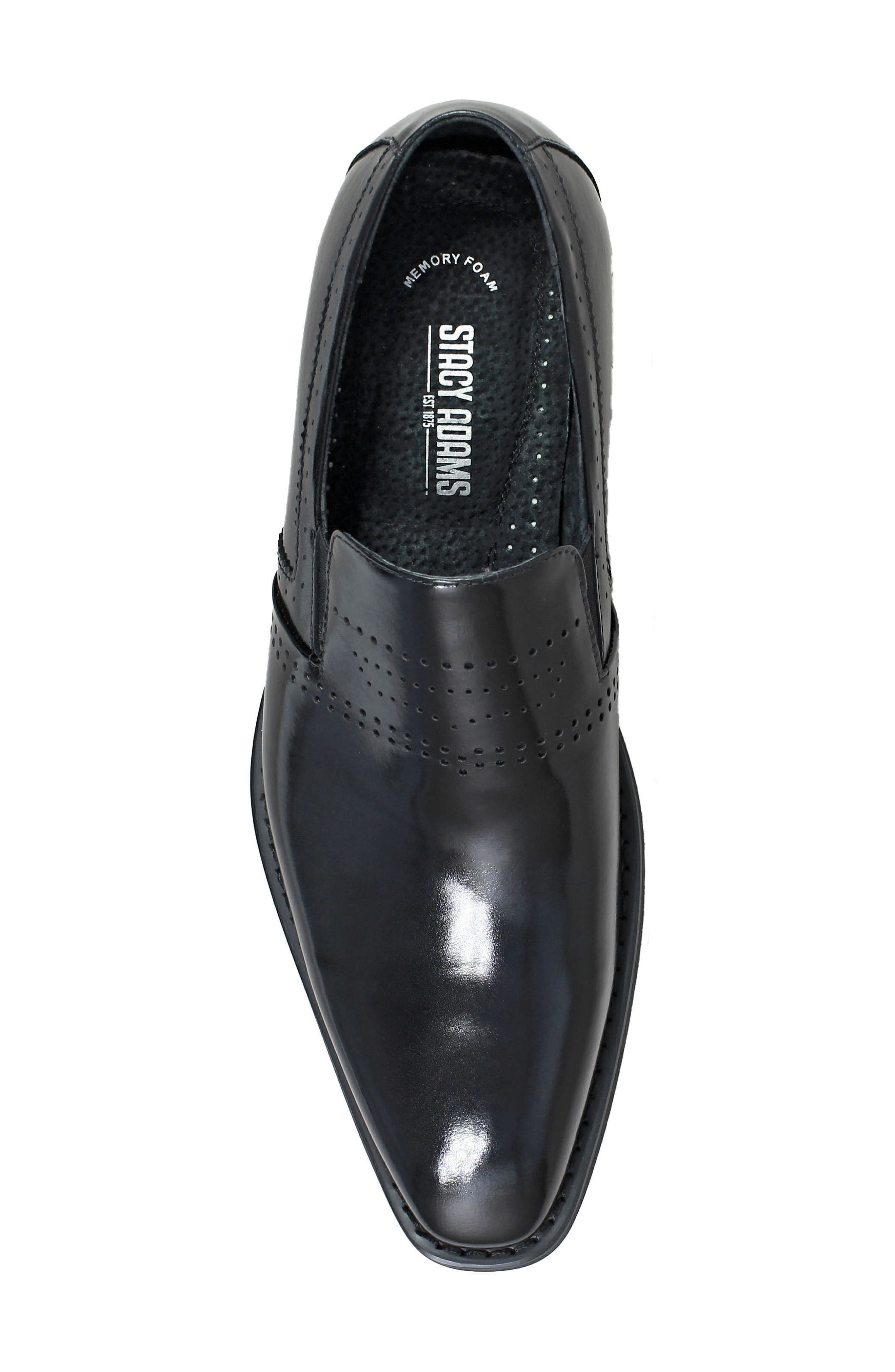 Alternate Image 5  - Stacy Adams Saunders Perforated Venetian Loafer (Men)