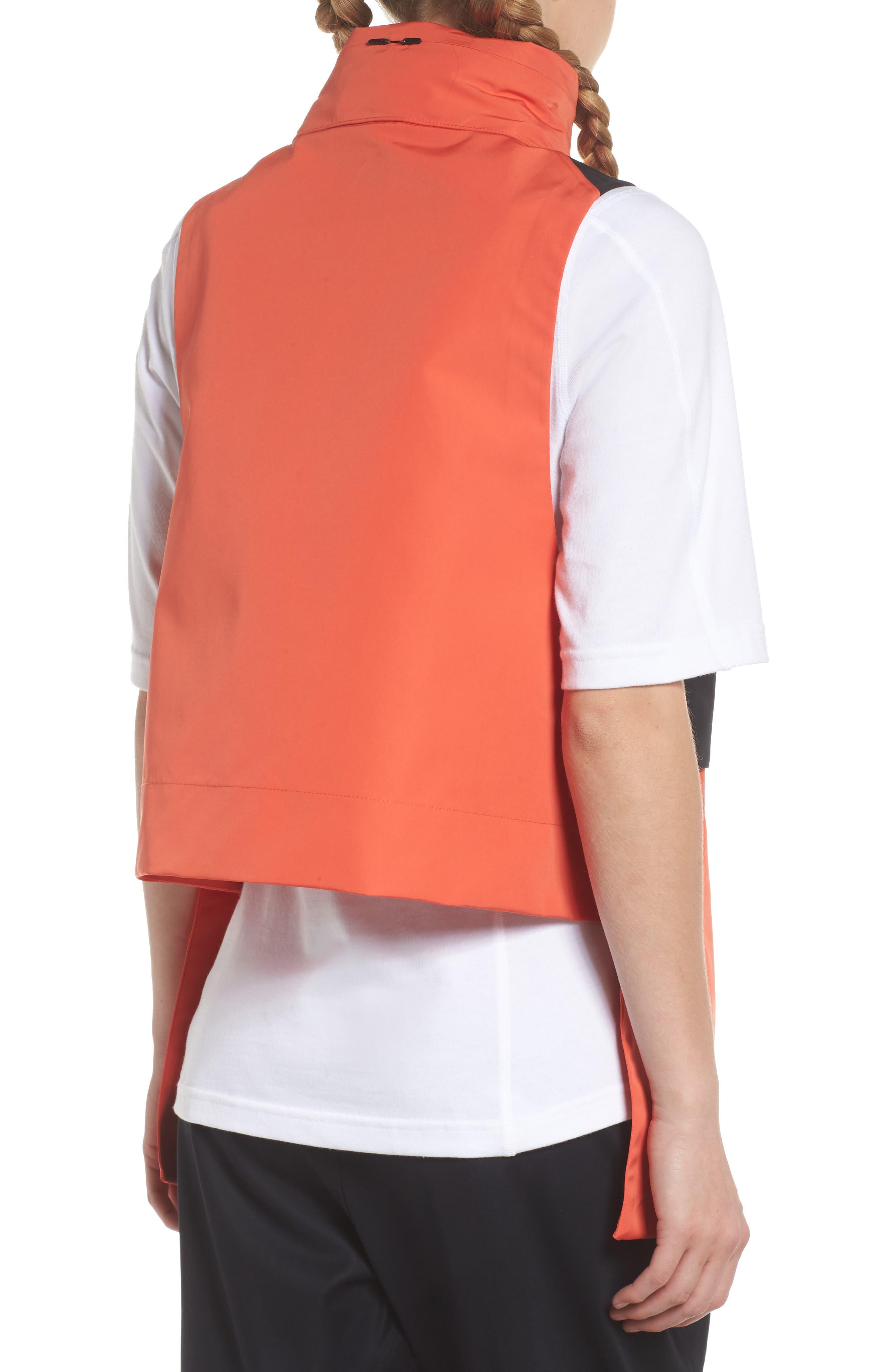 NikeLab ACG Water Repellent Women's Hooded Vest,                             Alternate thumbnail 2, color,                             Team Orange/ Team Orange