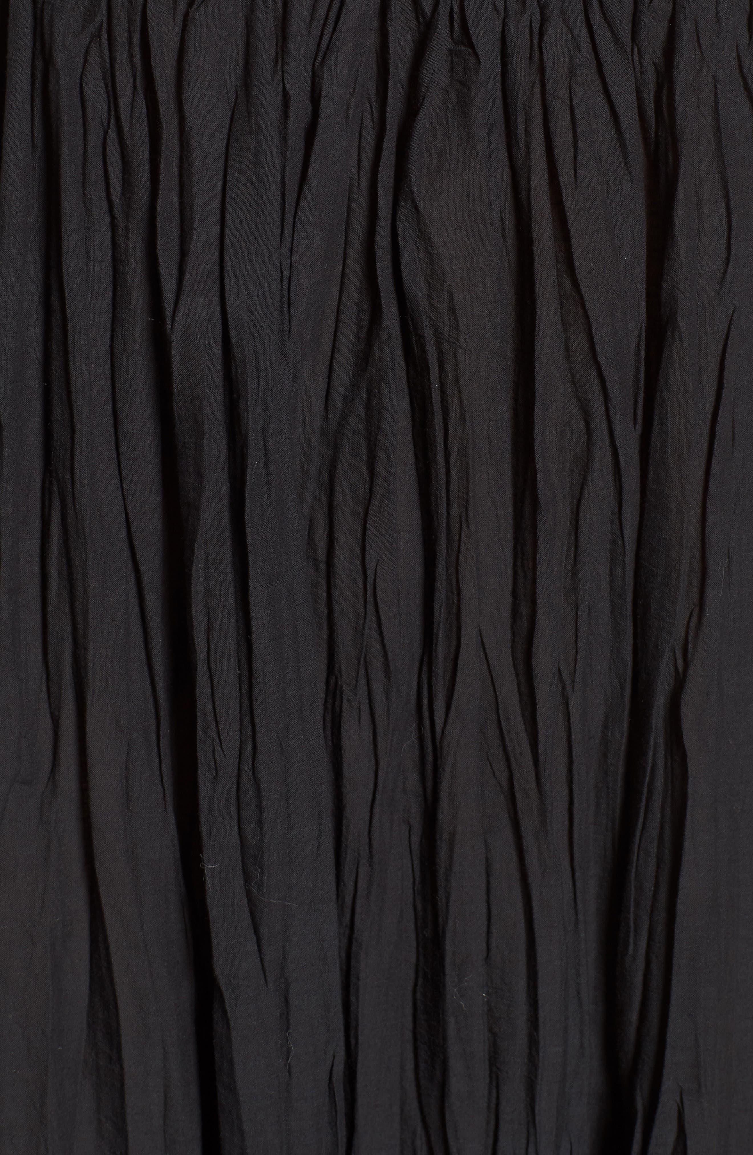 Drop It Sundress,                             Alternate thumbnail 5, color,                             Black