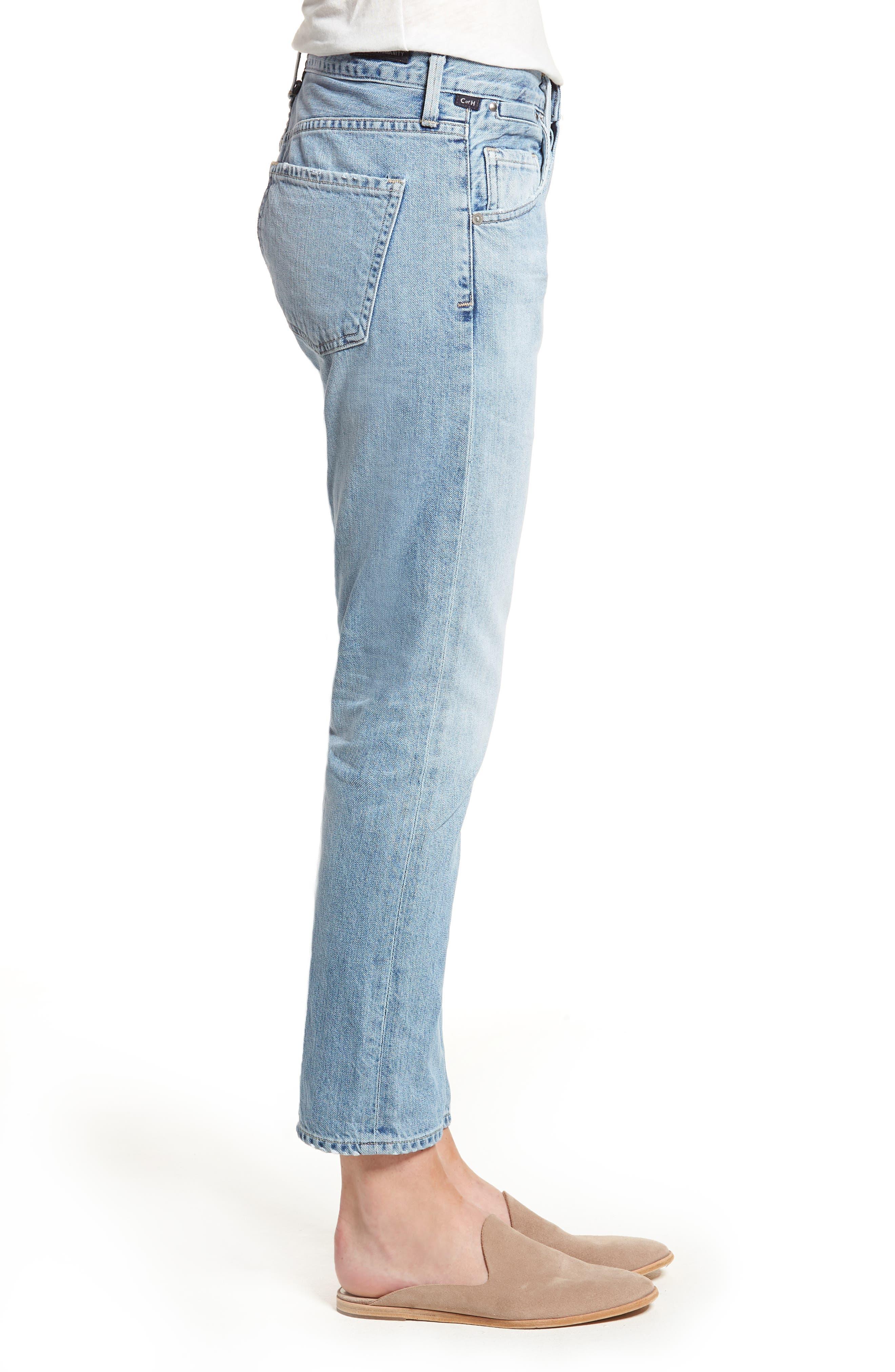 Emerson Slim Fit Boyfriend Jeans,                             Alternate thumbnail 3, color,                             Sunday Morning