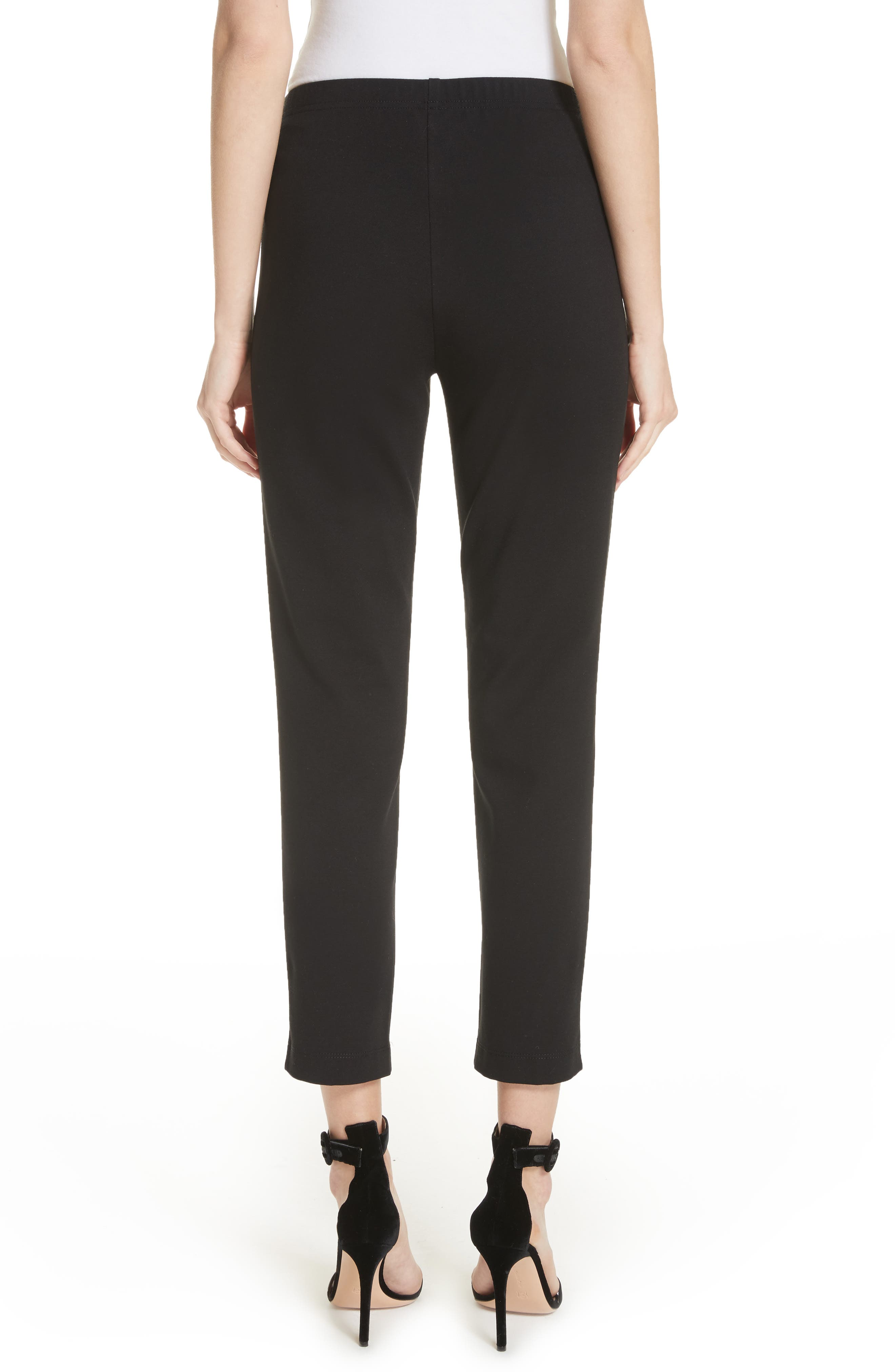 Alternate Image 2  - St. John Collection Ponte Knit Ankle Pants