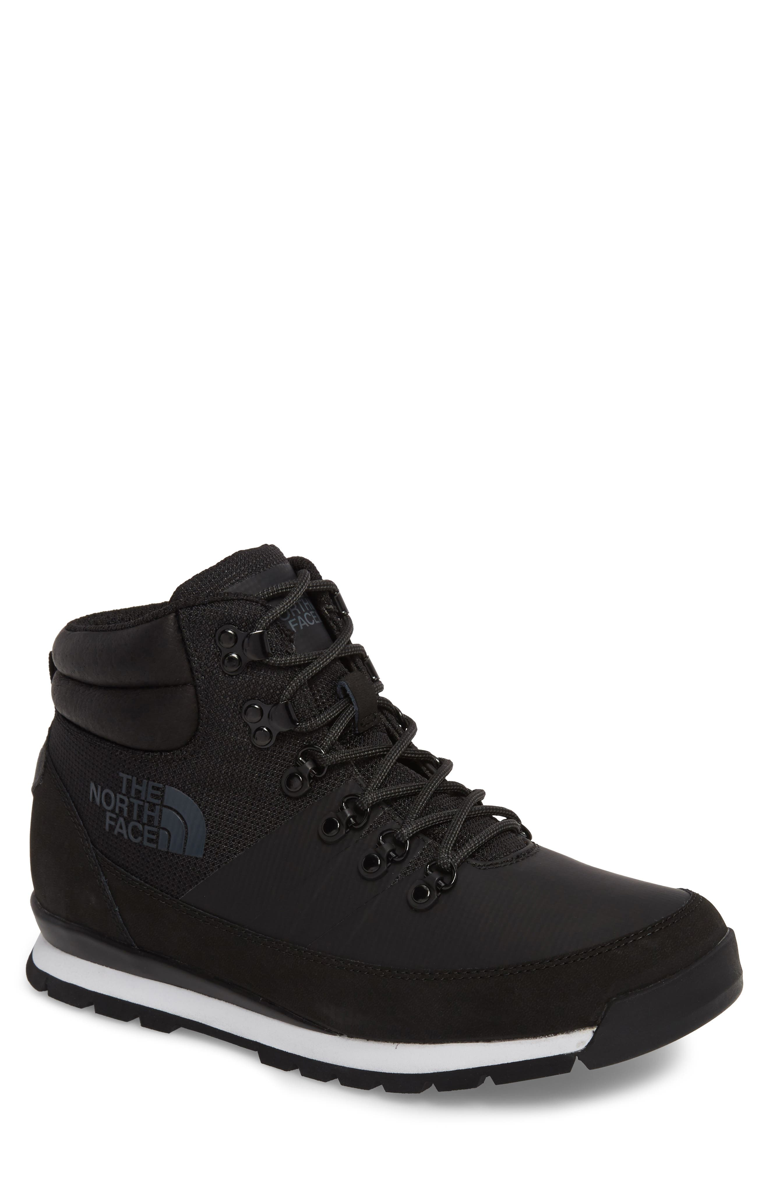 Back to Berkeley Mid AM Sneaker Boot,                         Main,                         color, Tnf Black/ Tnf Black