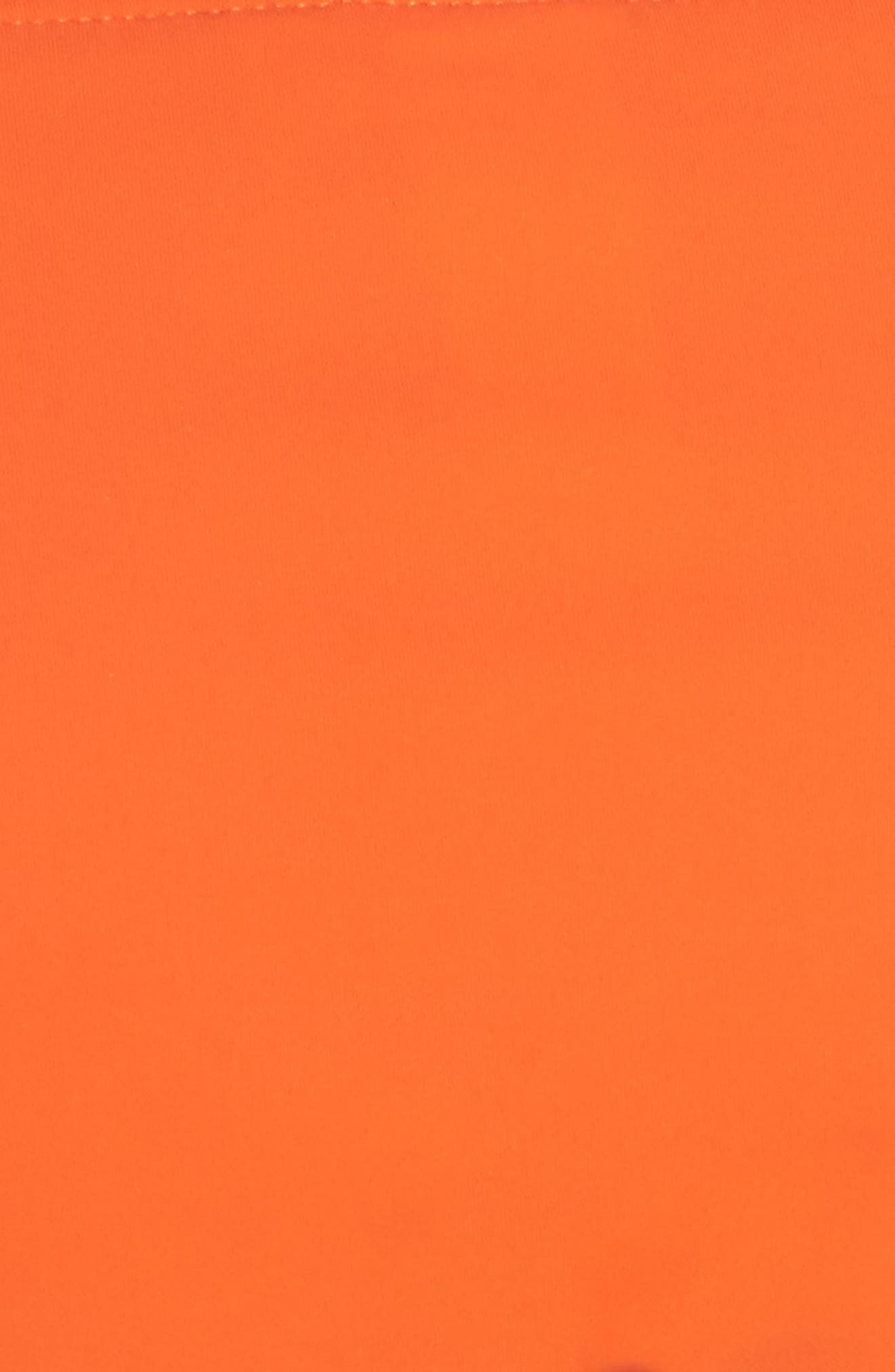 Hipster Bikini Bottoms,                             Alternate thumbnail 8, color,                             Sweet Tangerine