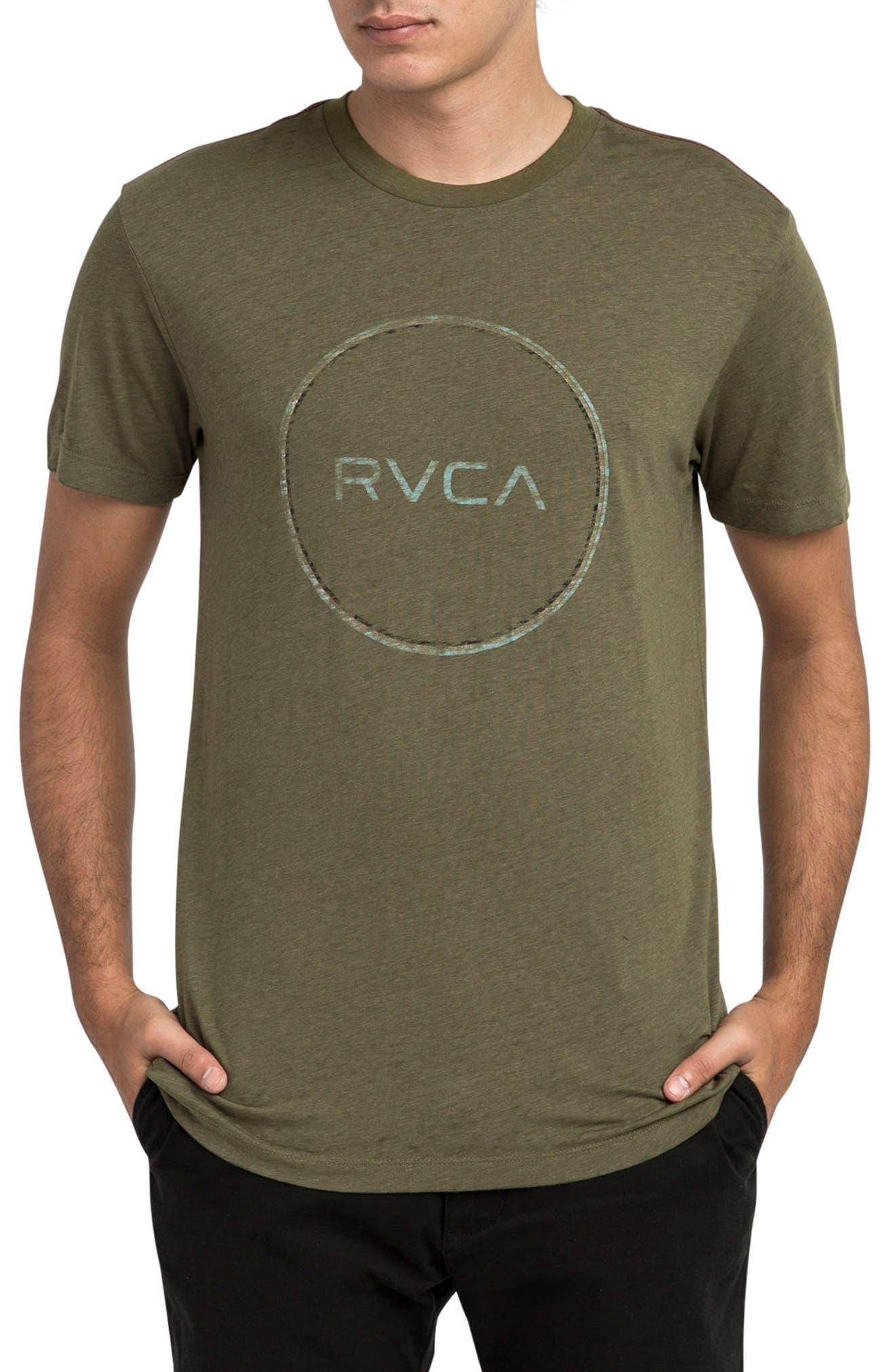 Tri Motors Burnout Graphic T-Shirt,                         Main,                         color, Burnt Olive