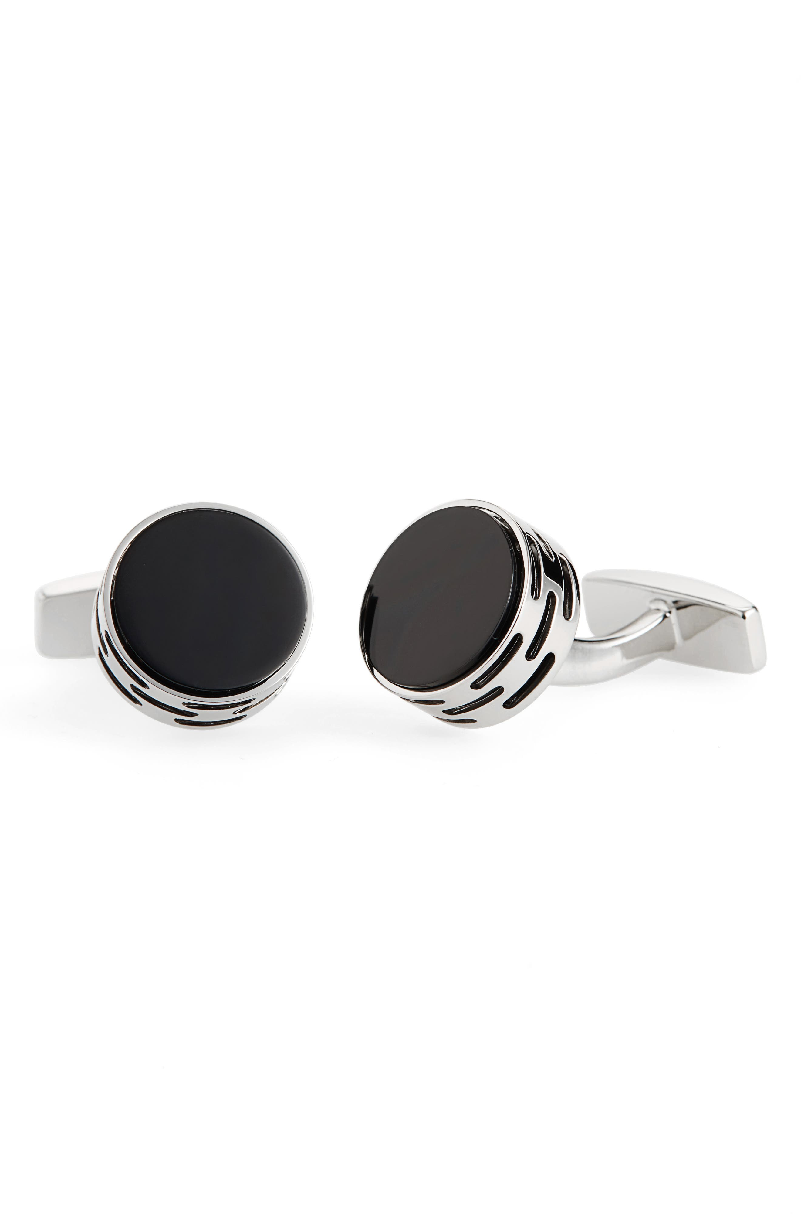 BOSS Brass Cuff Links