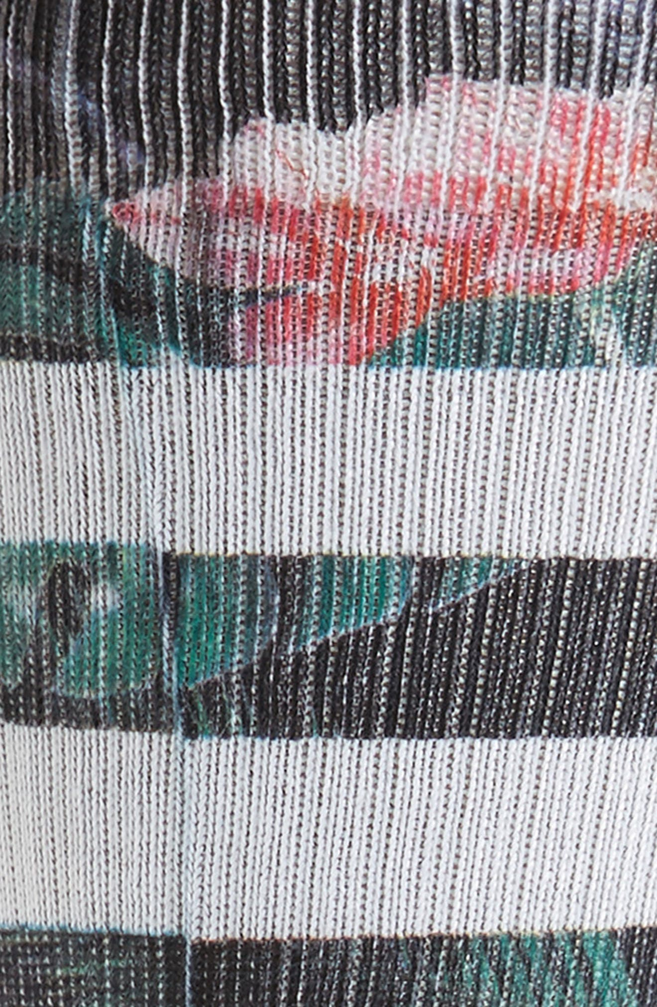 Bagheera Socks,                             Alternate thumbnail 2, color,                             Black