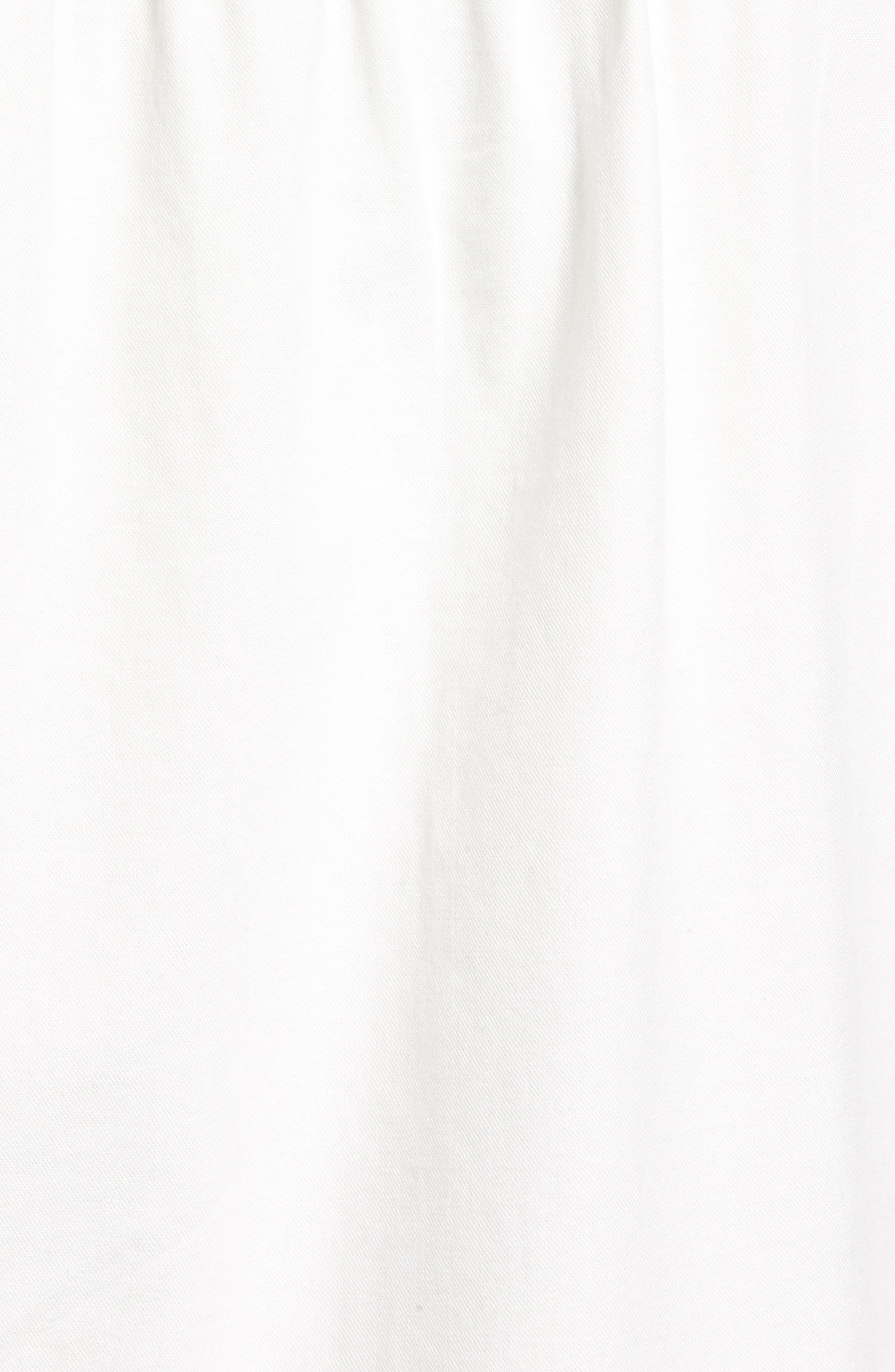 Snap Pocket Utility Jacket,                             Alternate thumbnail 6, color,                             White Snow