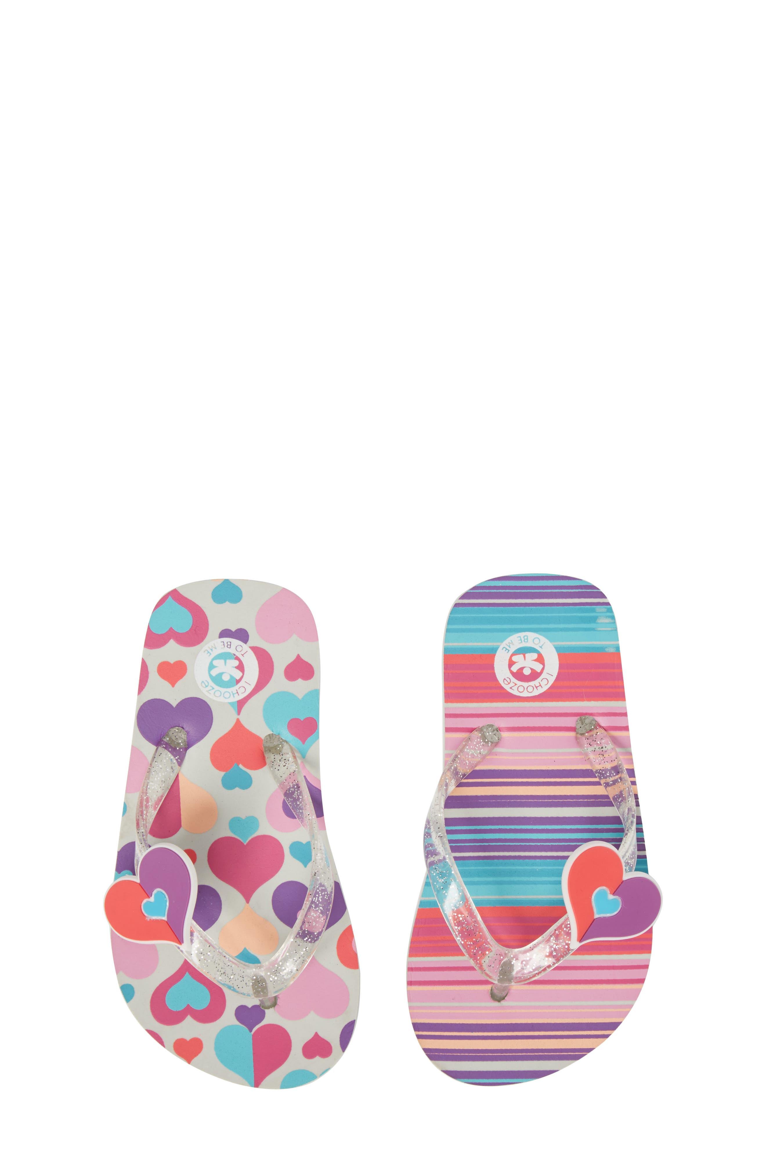 Main Image - CHOOZE Print Flip Flop (Toddler, Little Kid & Big Kid)