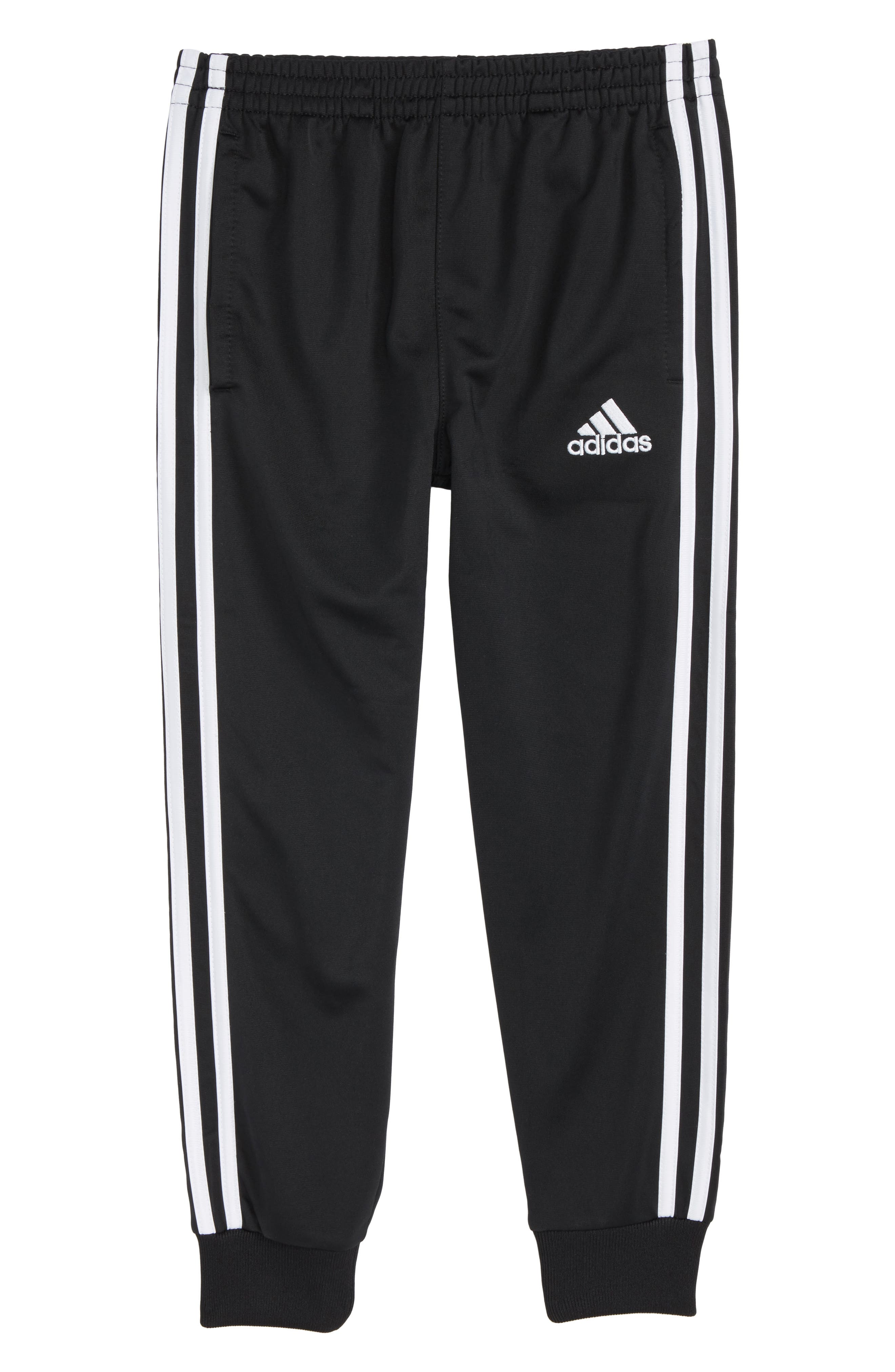 adidas Tricot Jogger Pants (Toddler Boys & Little Boys)