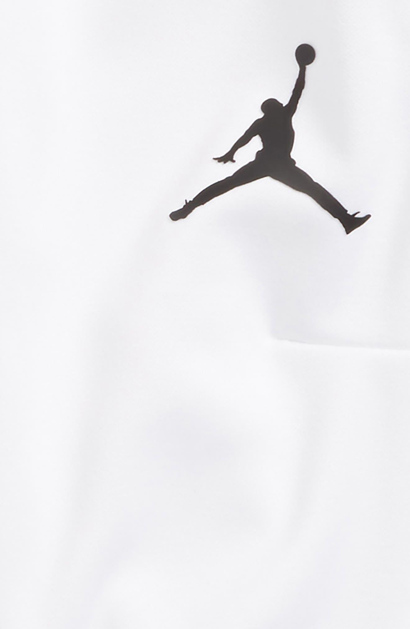 Jordan Dry 23 Alpha FZ Therma-FIT Sweatpants,                             Alternate thumbnail 2, color,                             White