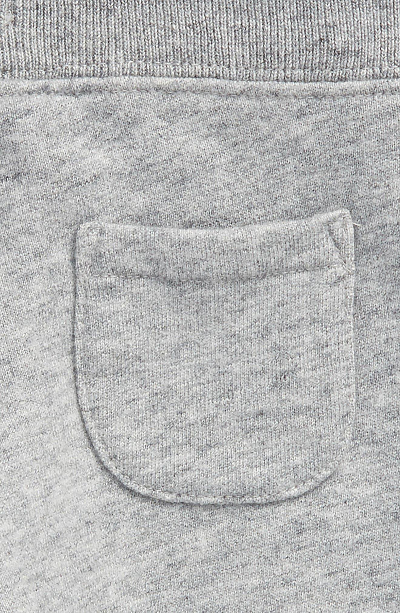 Essential Jersey Jogger Pants,                             Alternate thumbnail 3, color,                             Grey Marl