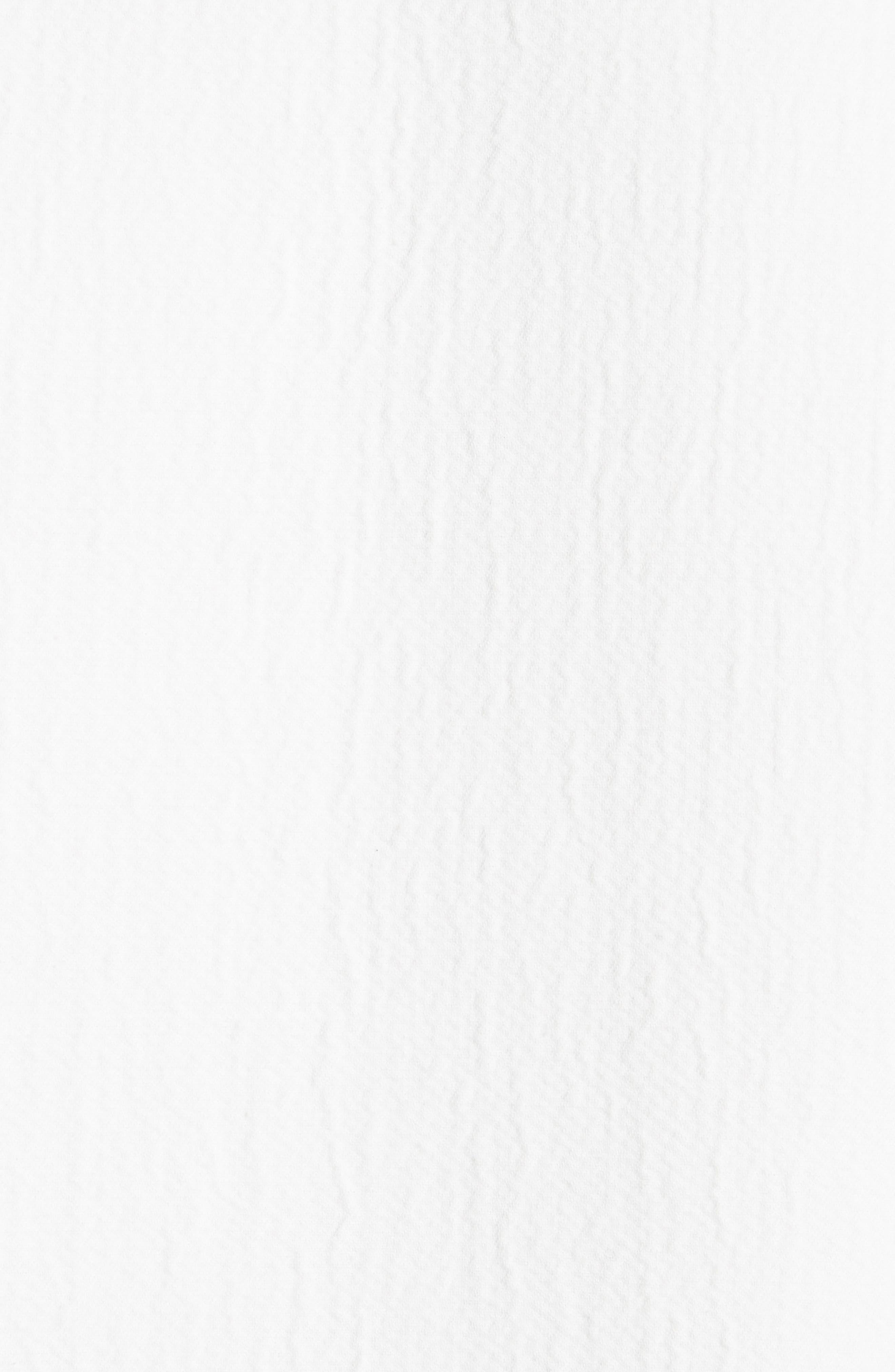Ruffle Sleeve Cotton Coat,                             Alternate thumbnail 6, color,                             Linen