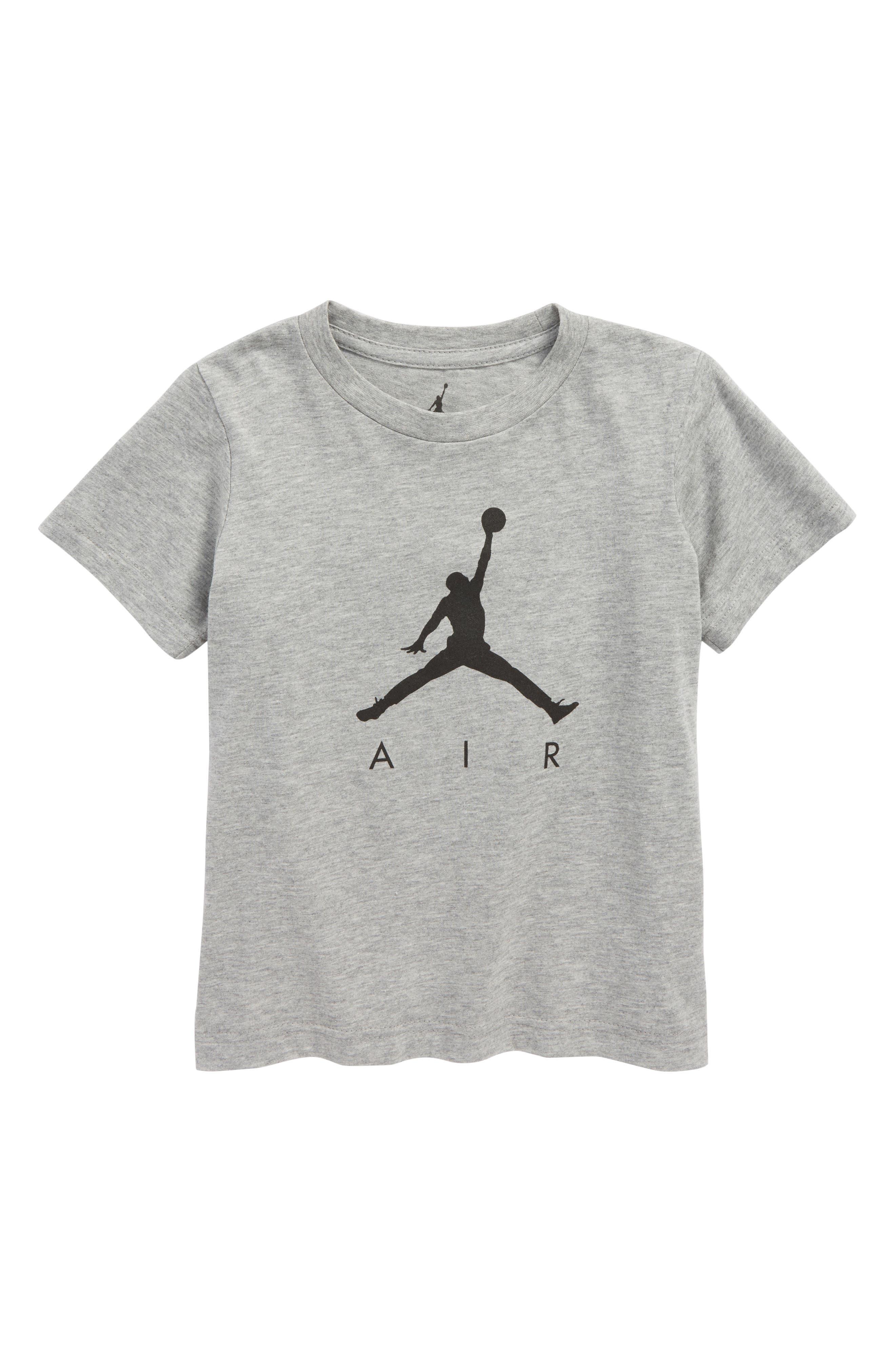 Jordan AJ3 Photo Graphic T-Shirt,                         Main,                         color, Carbon Heather