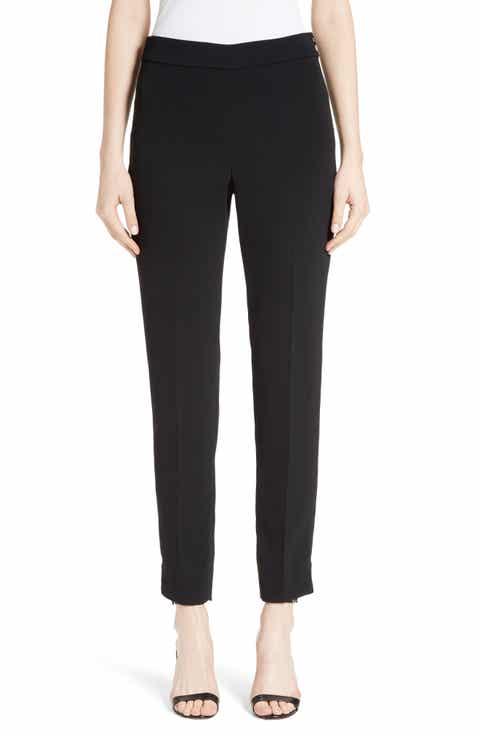 St. John Collection Alexa Scuba Bi-Stretch Slim Crop Pants Top Reviews