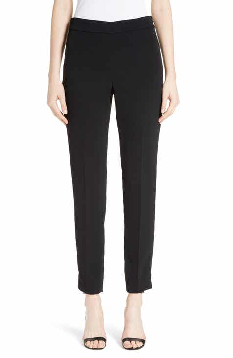 St. John Collection Alexa Scuba Slim Crop Pants by ST. JOHN COLLECTION