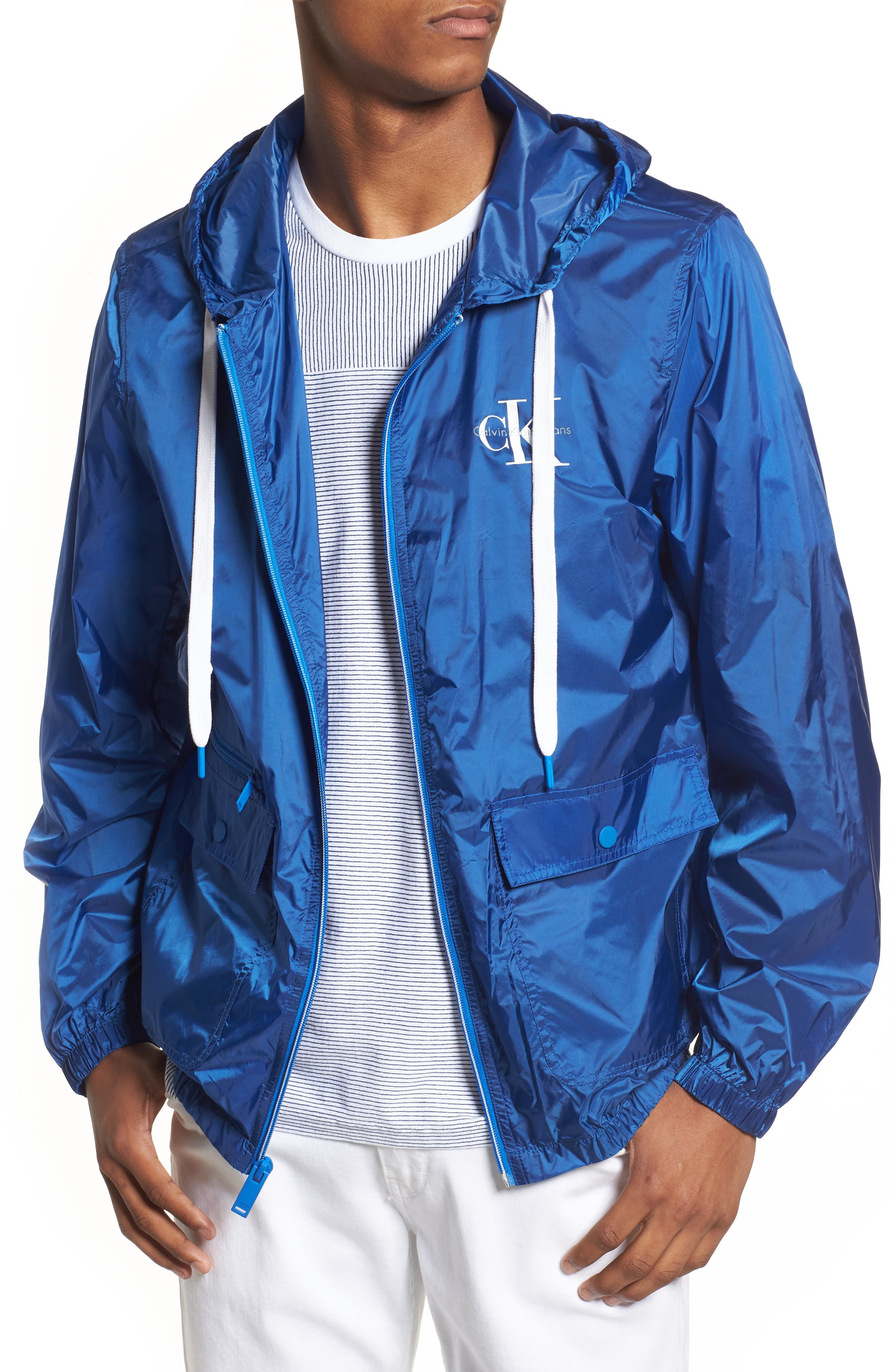Reissue Windbreaker,                             Main thumbnail 1, color,                             Strong Blue